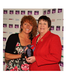 Mary Tomes wins Nat West Every Woman award