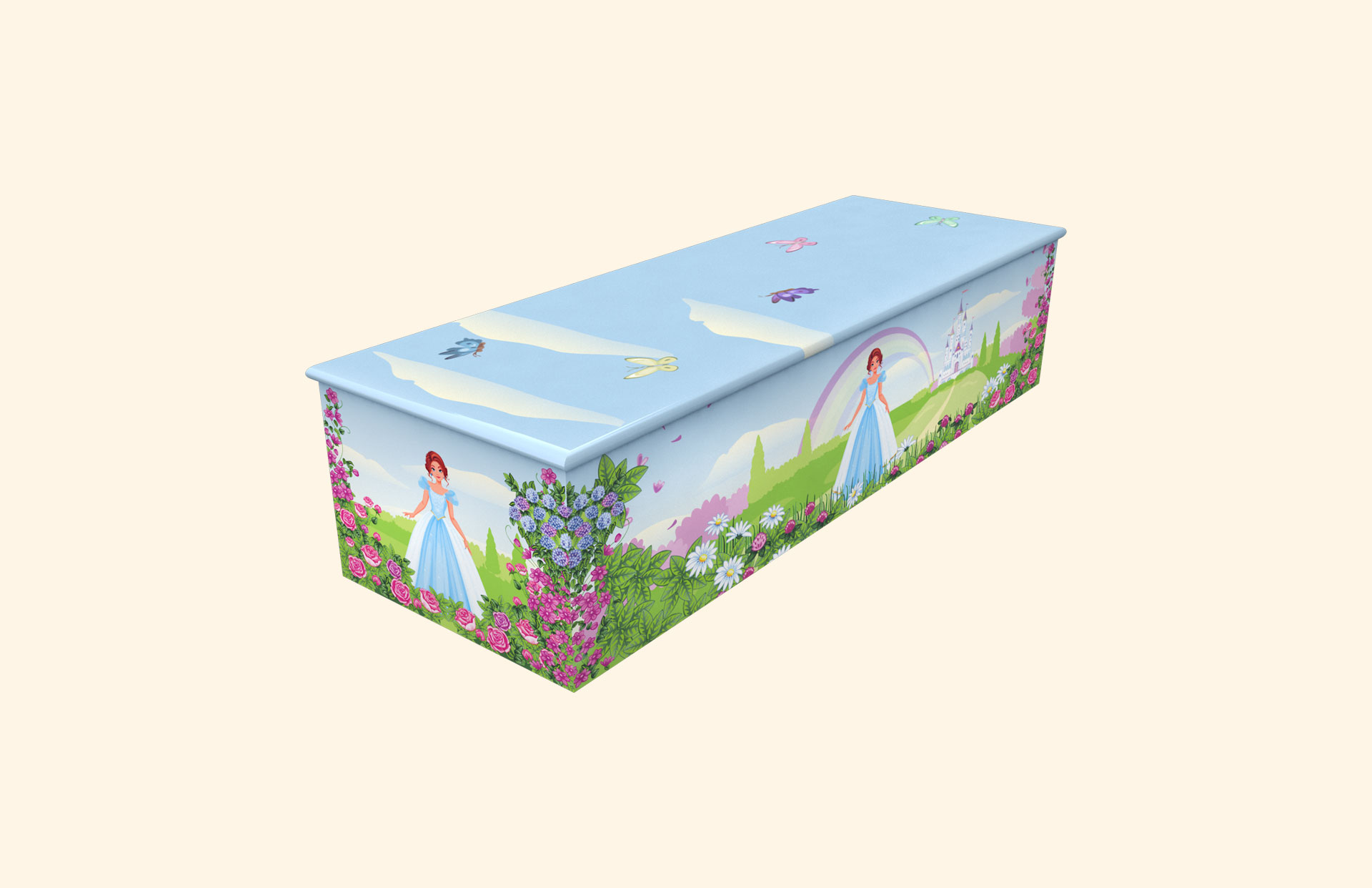 Rose Princess child casket