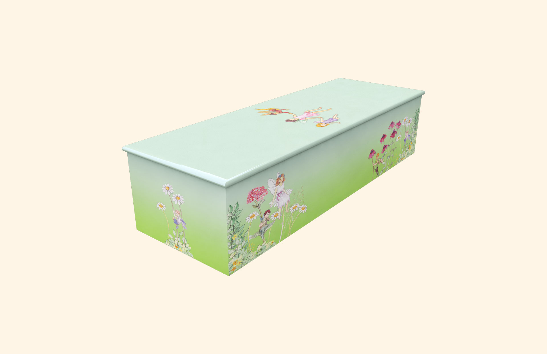 Fairyland Green child casket