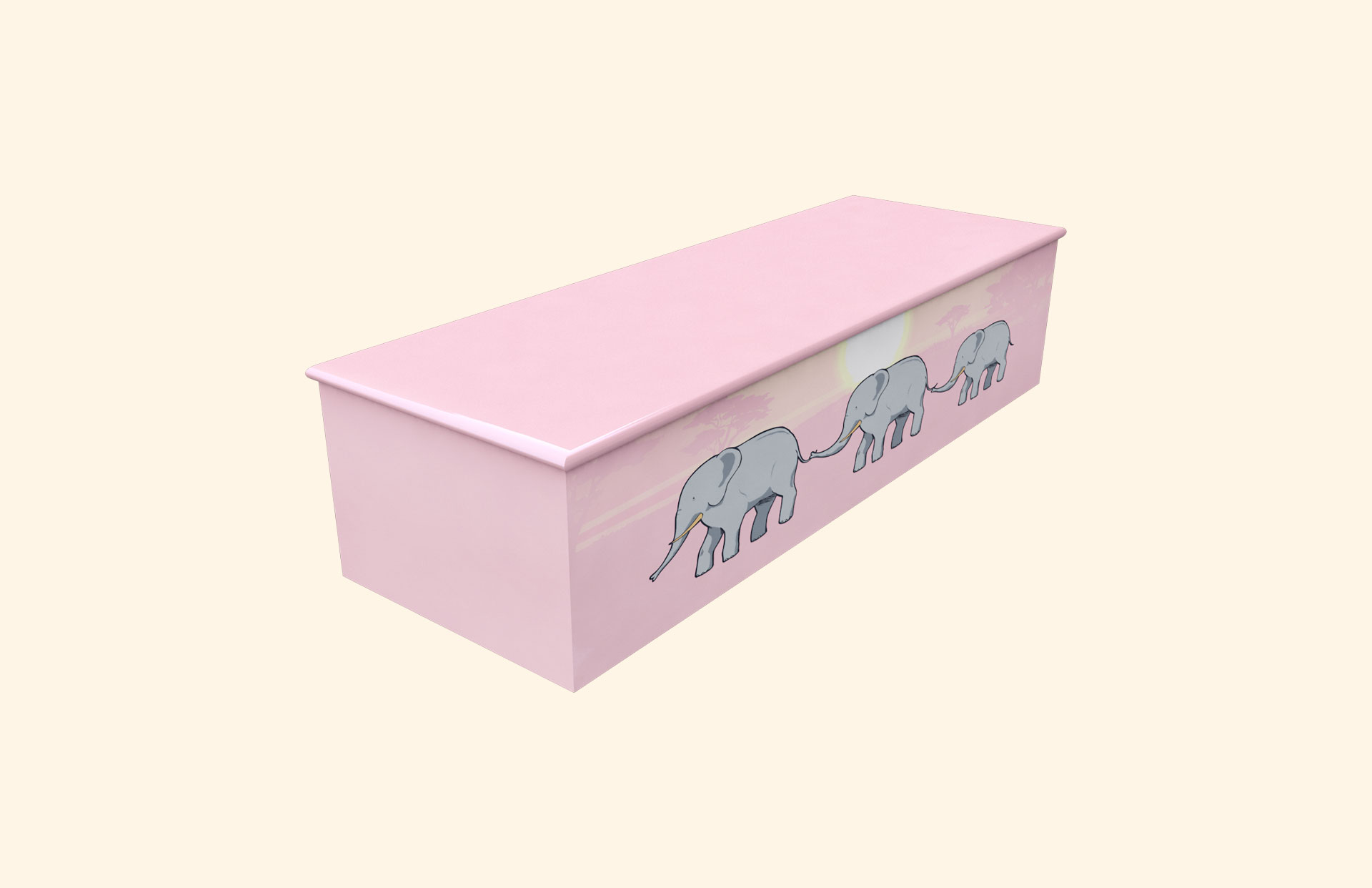 Elephant Trail child casket