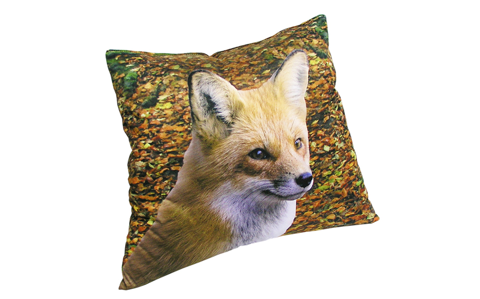 Woodland Foxes Pillow