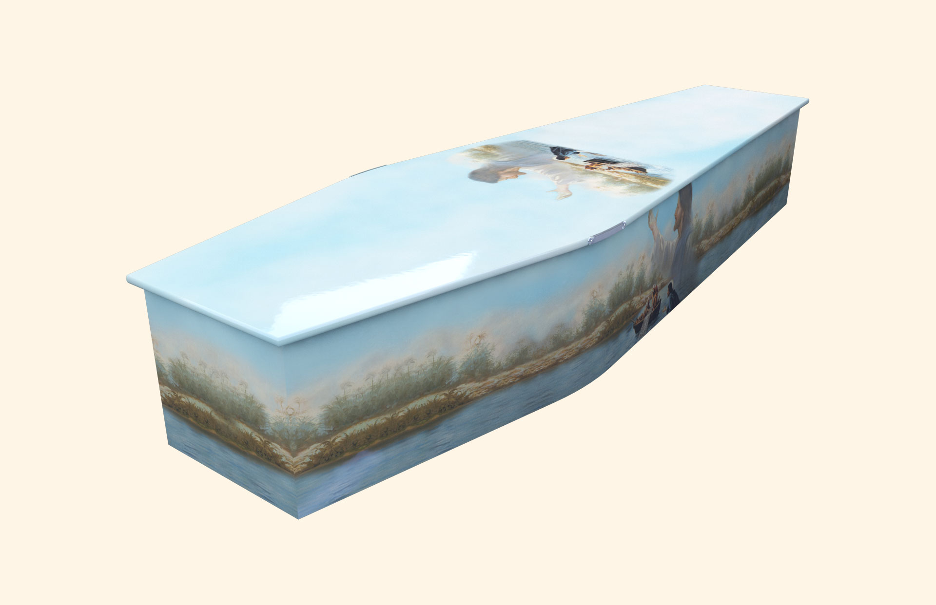 The Miracle Traditional coffin