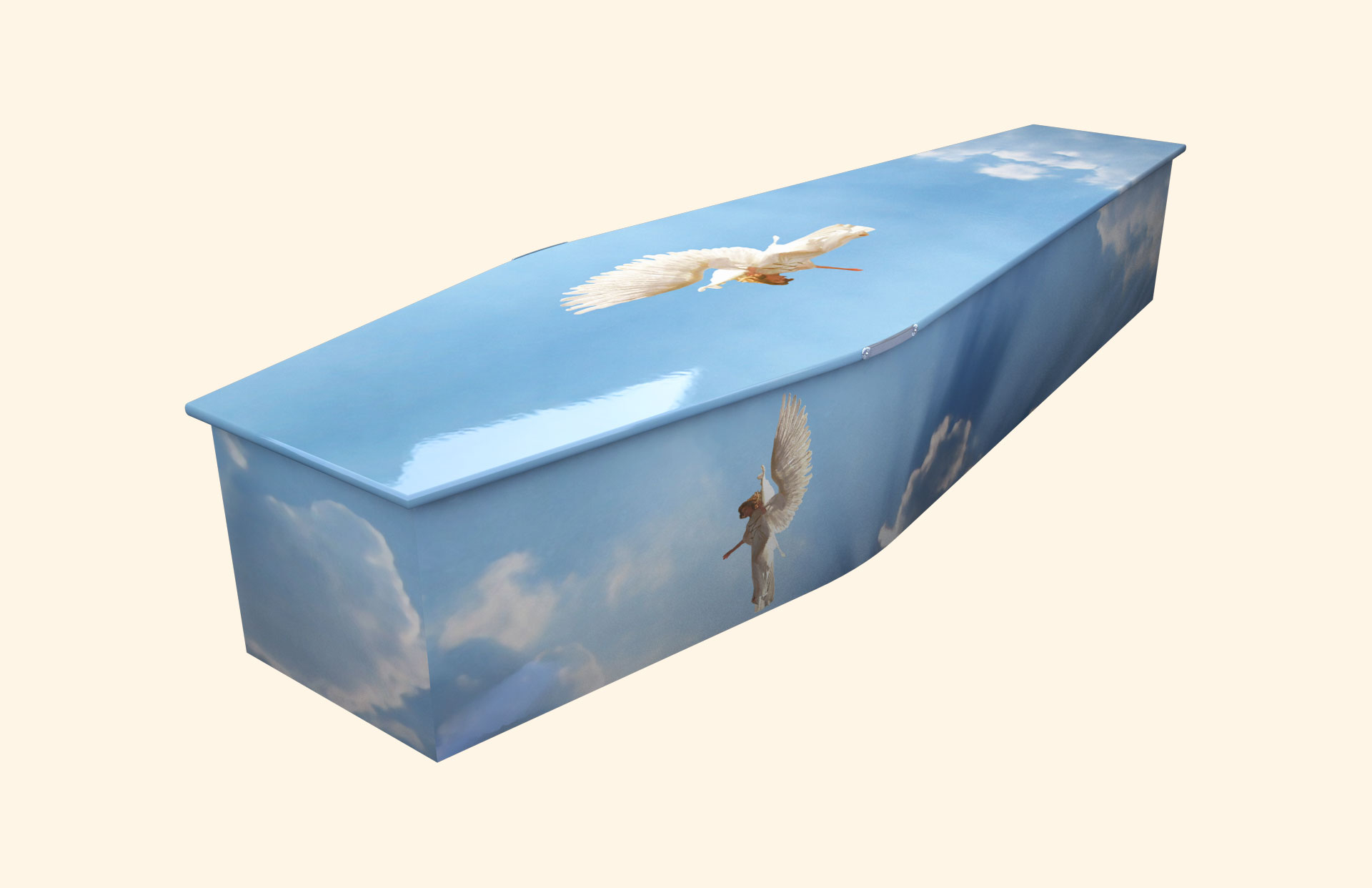 Heavenly Angel Traditional coffin