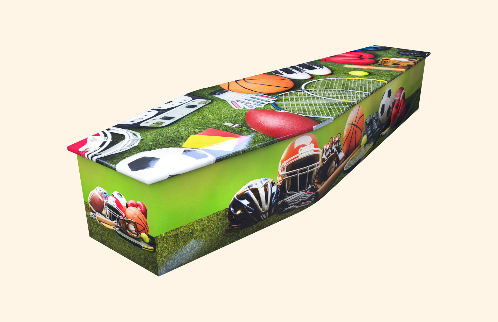 Just Sports Traditional coffin