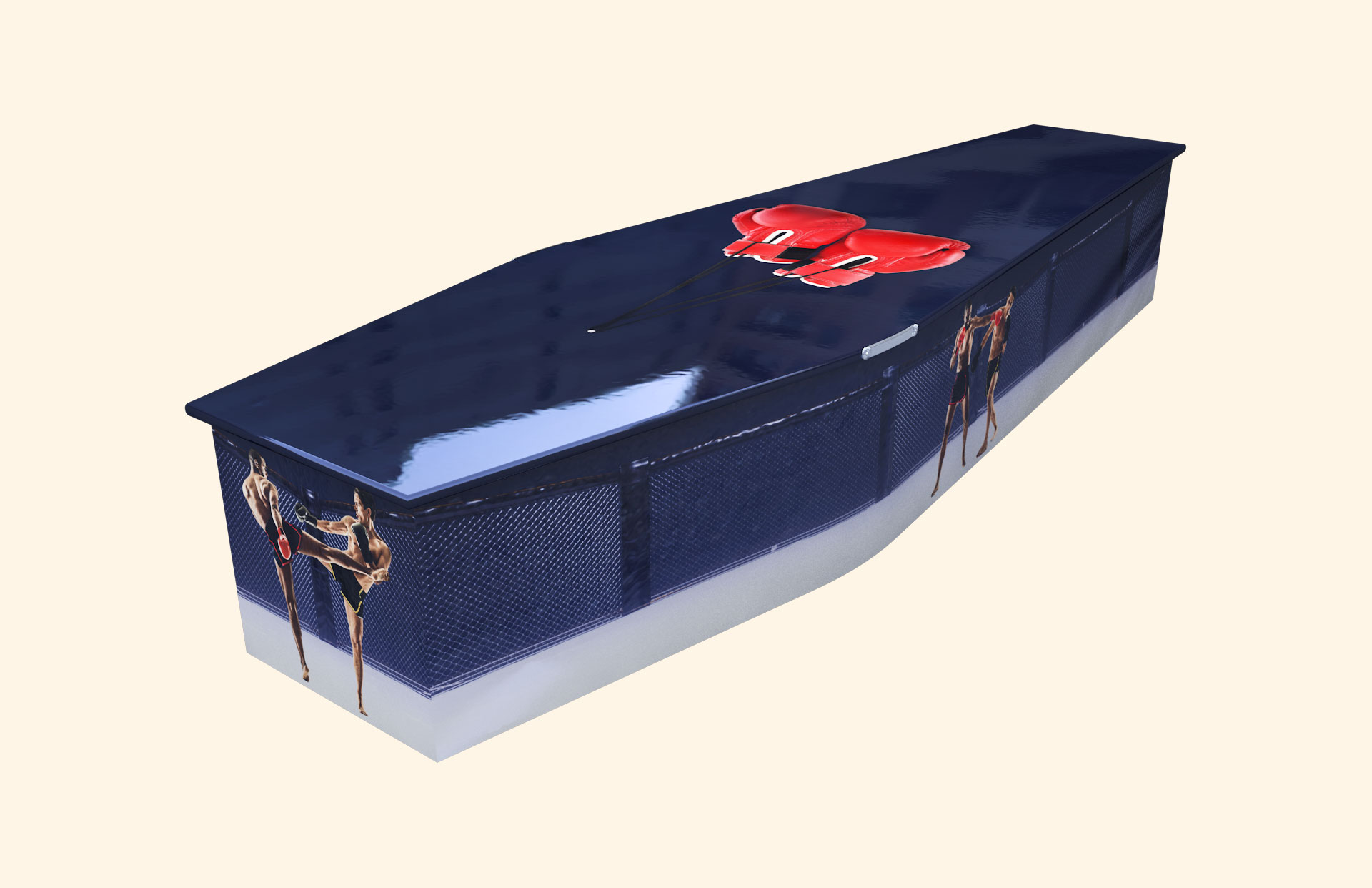 Ultimate Fighting Traditional coffin