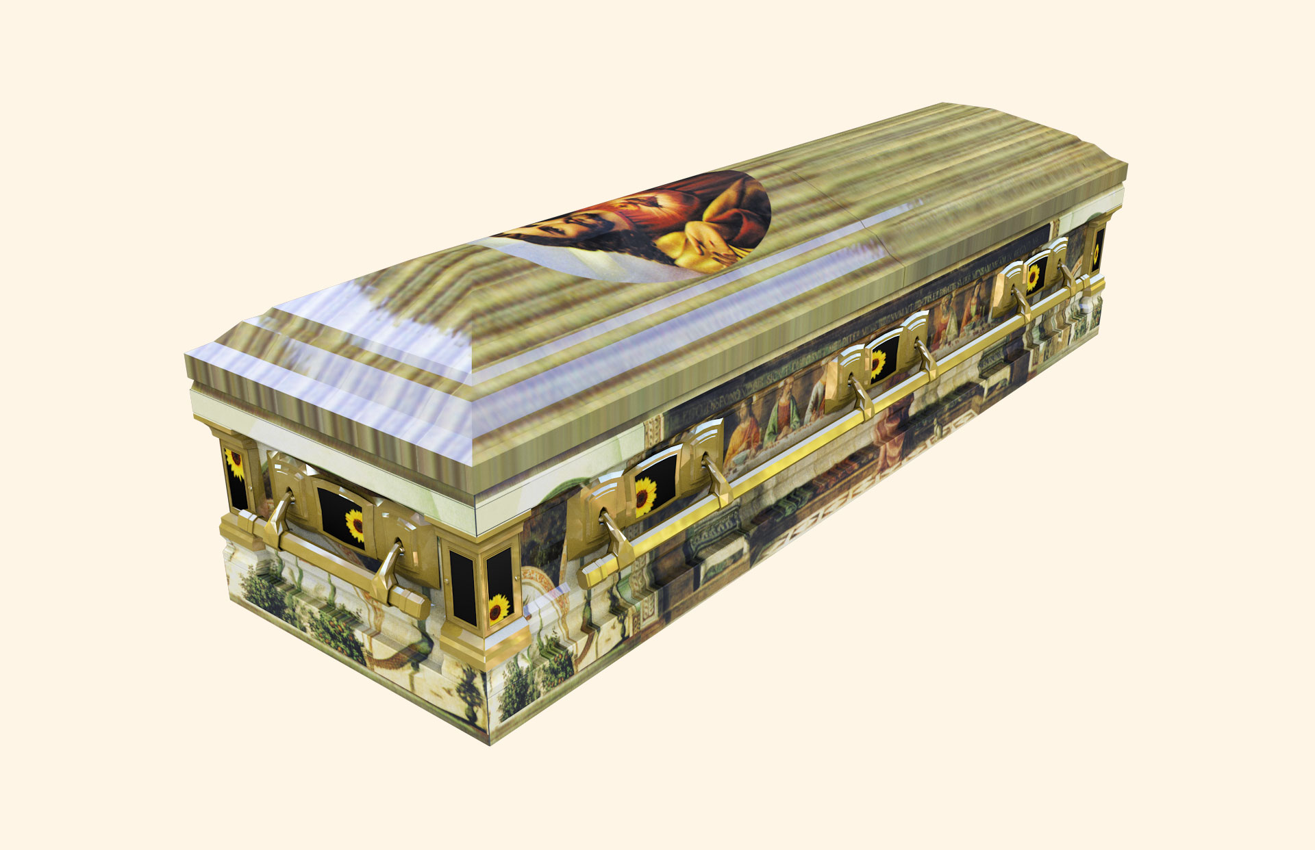 Last Supper Devotion American Casket