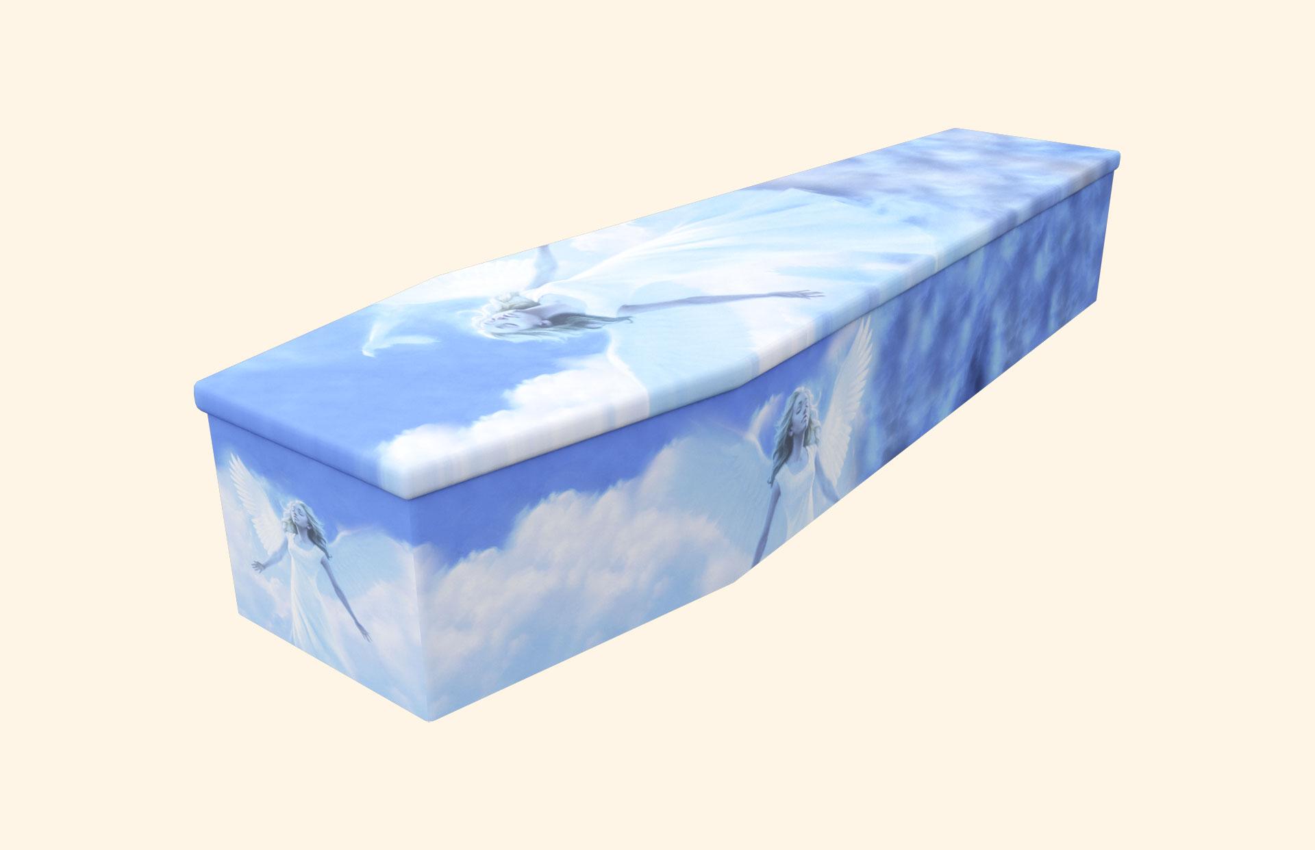 My Angel Cardboard coffin