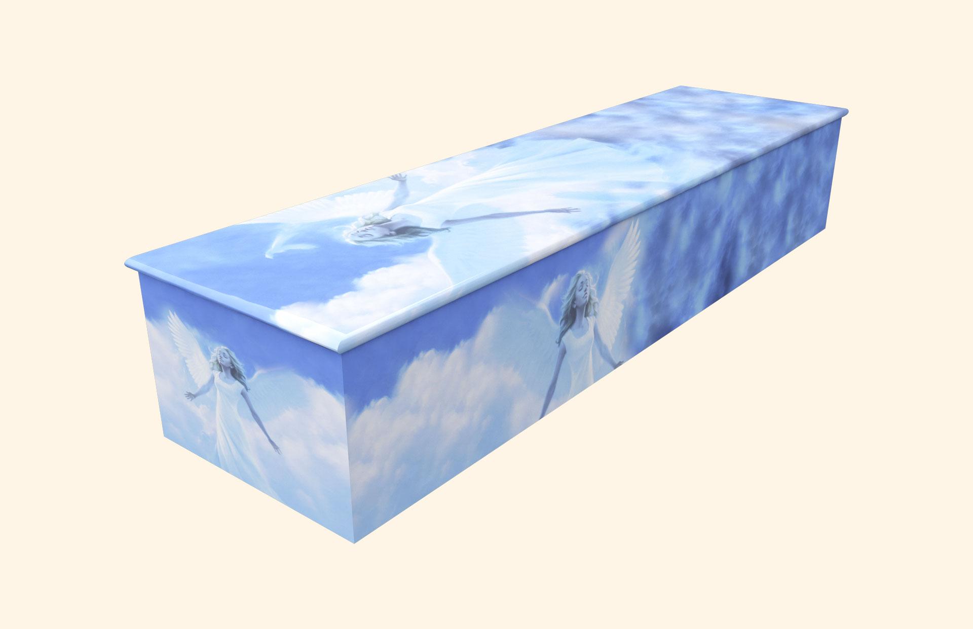 My Angel Wooden casket