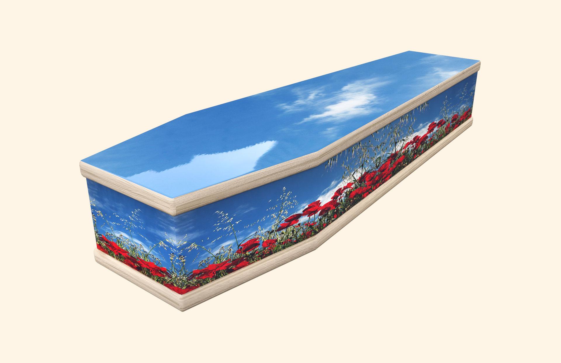 Poppy Wonder Classic coffin