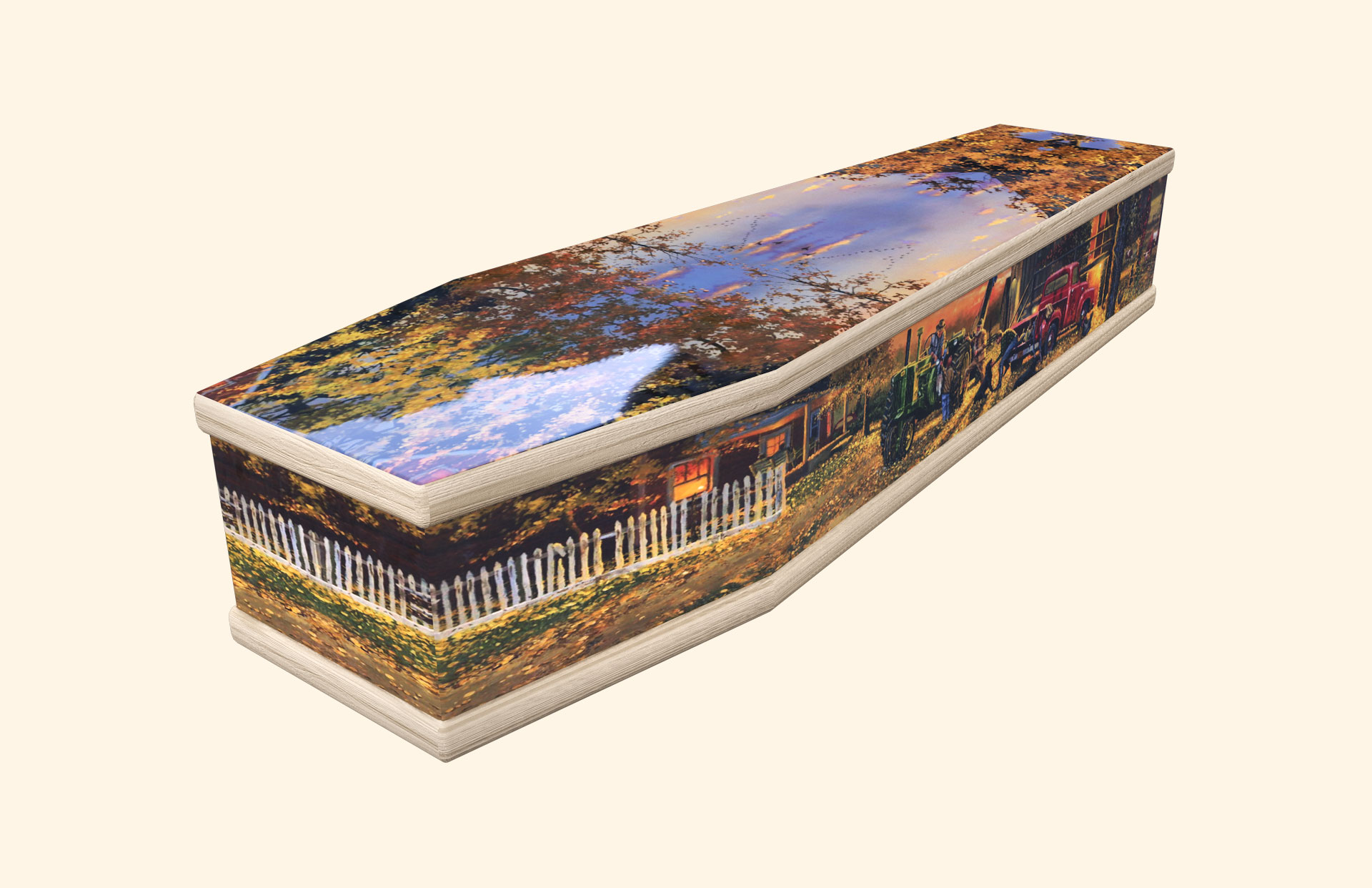Farm Life Classic coffin