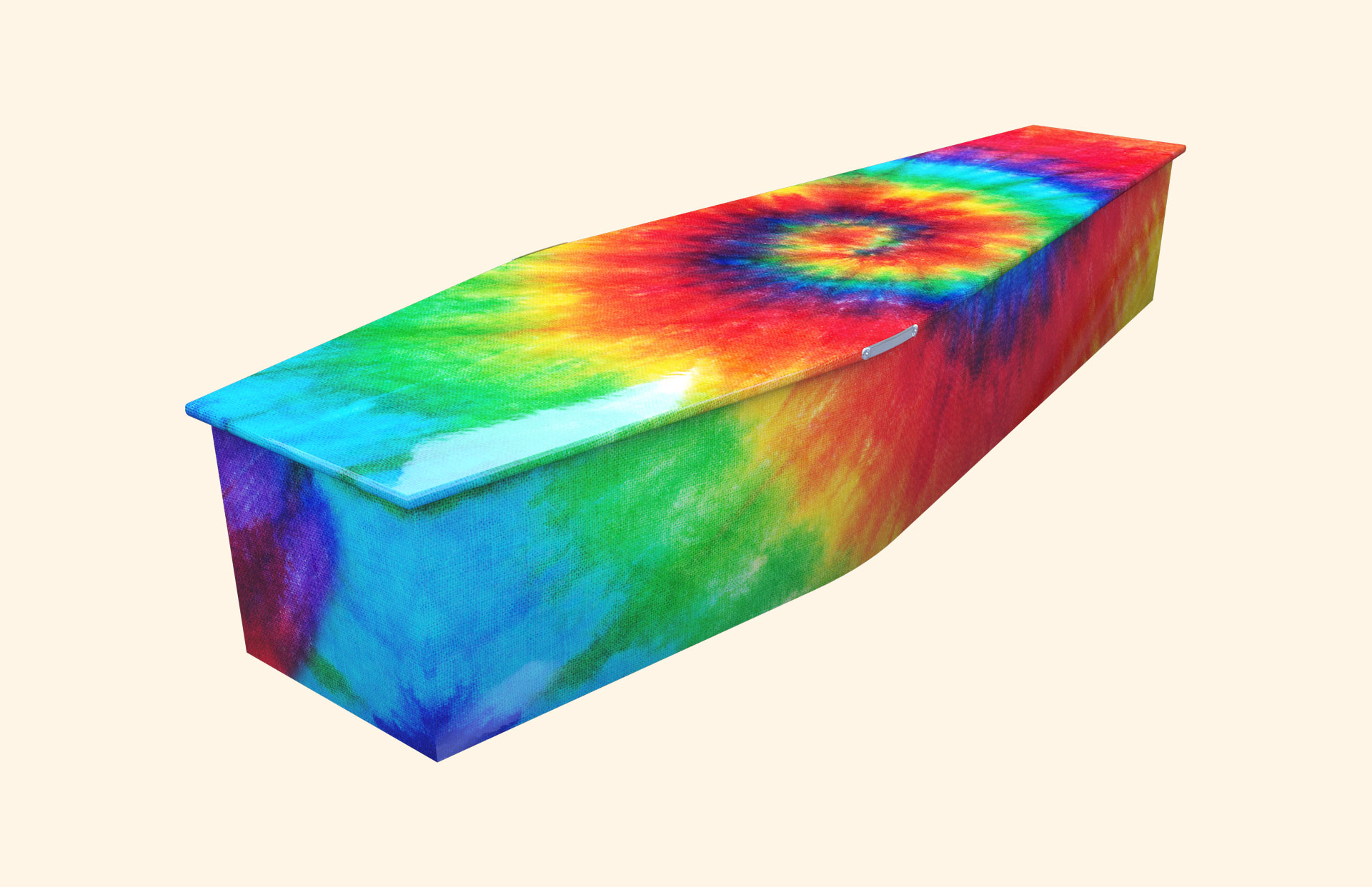 Tie Dye New Version Traditional coffin