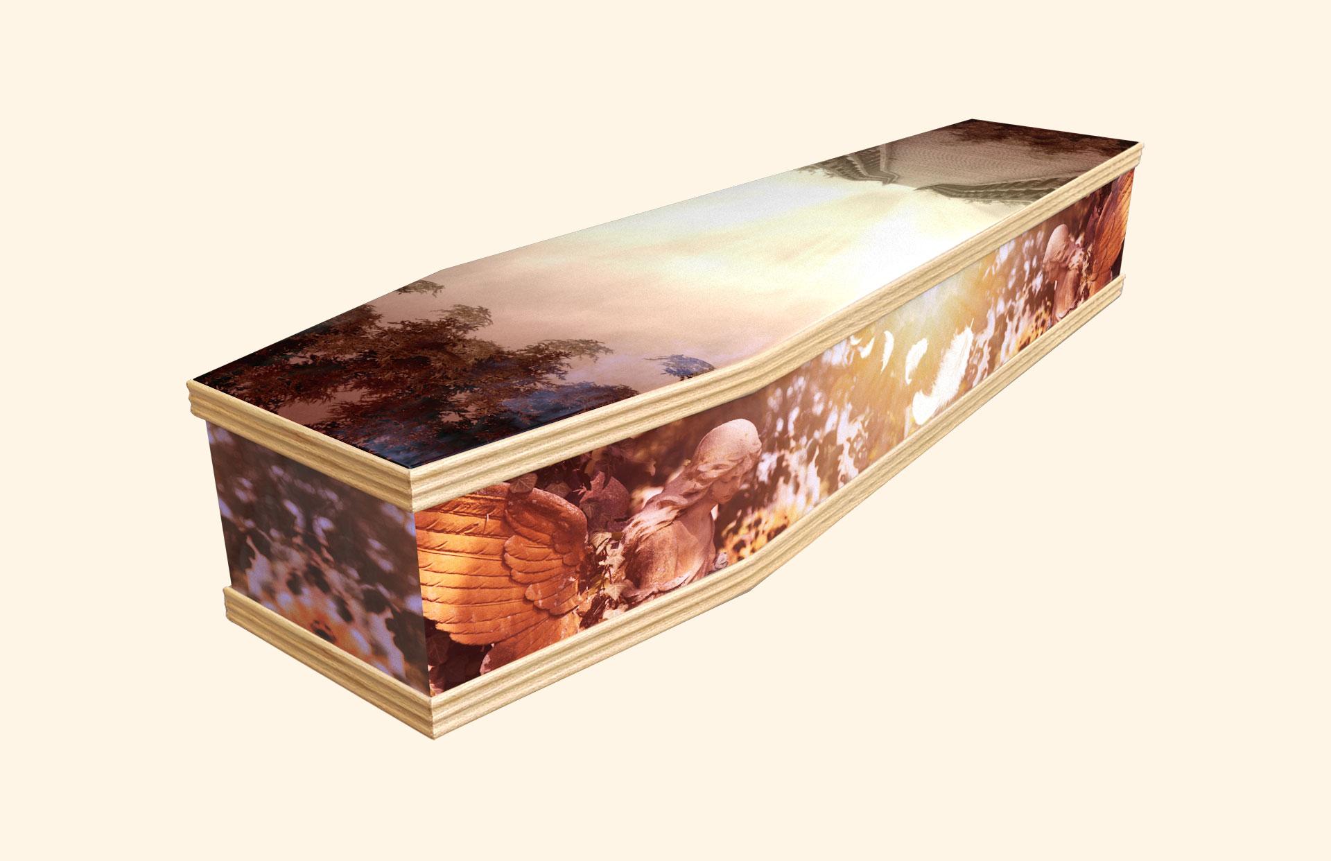 Heavens Door classic coffin