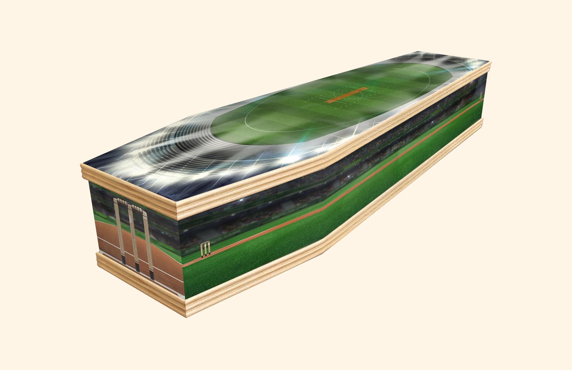 Howzat! Classic coffin