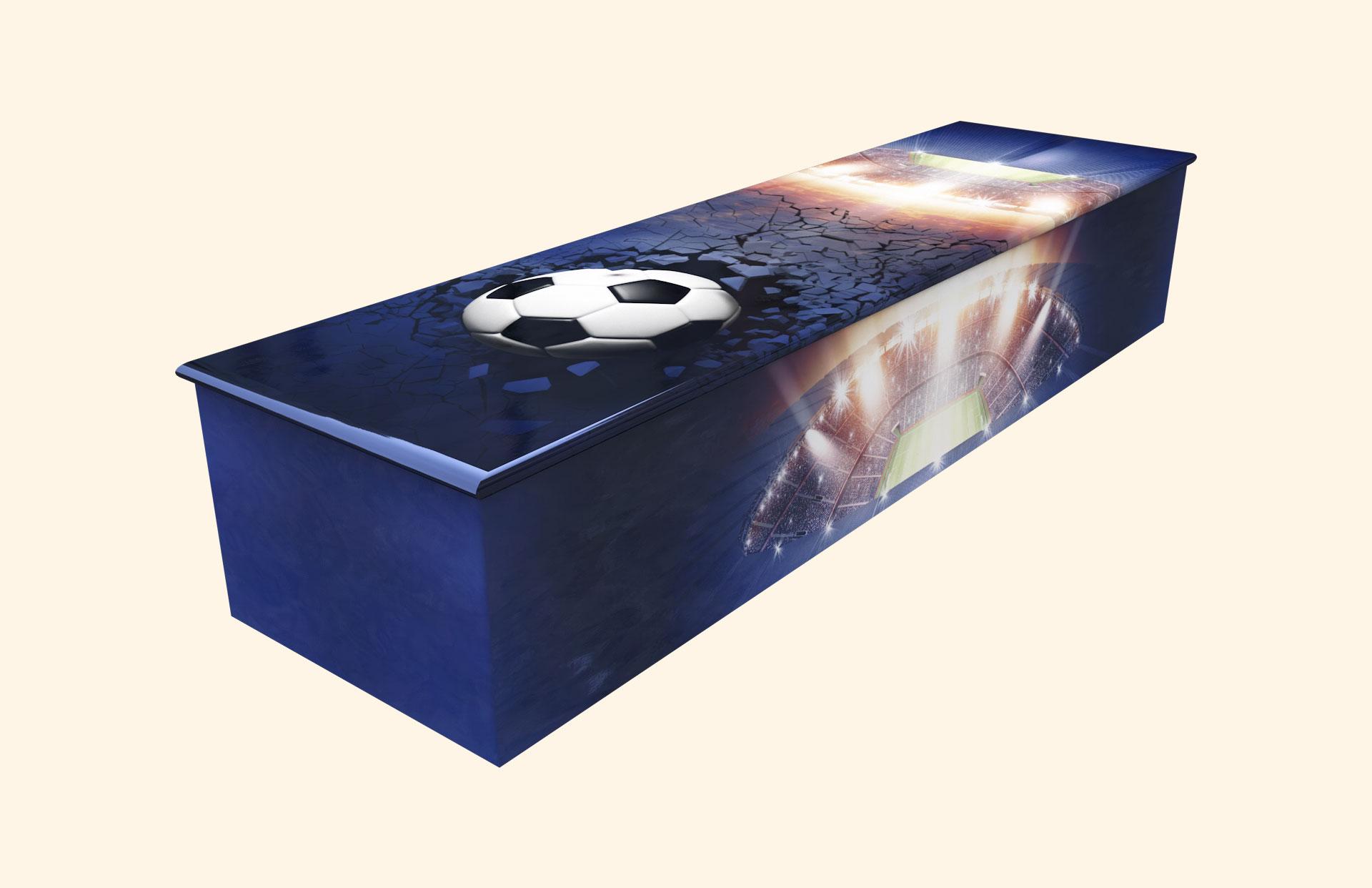 Game On Wooden casket