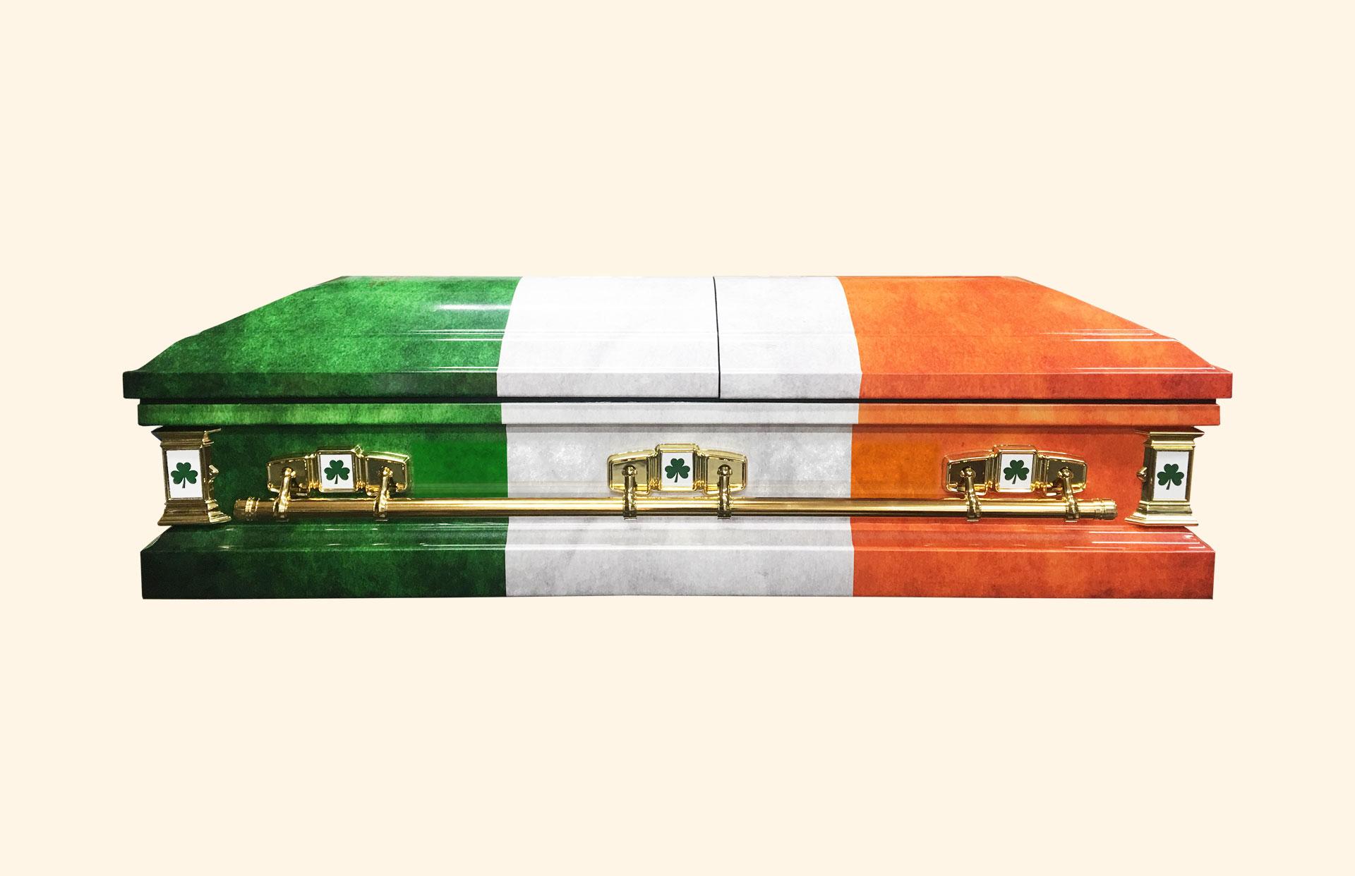 Devotion Irish Flag side view