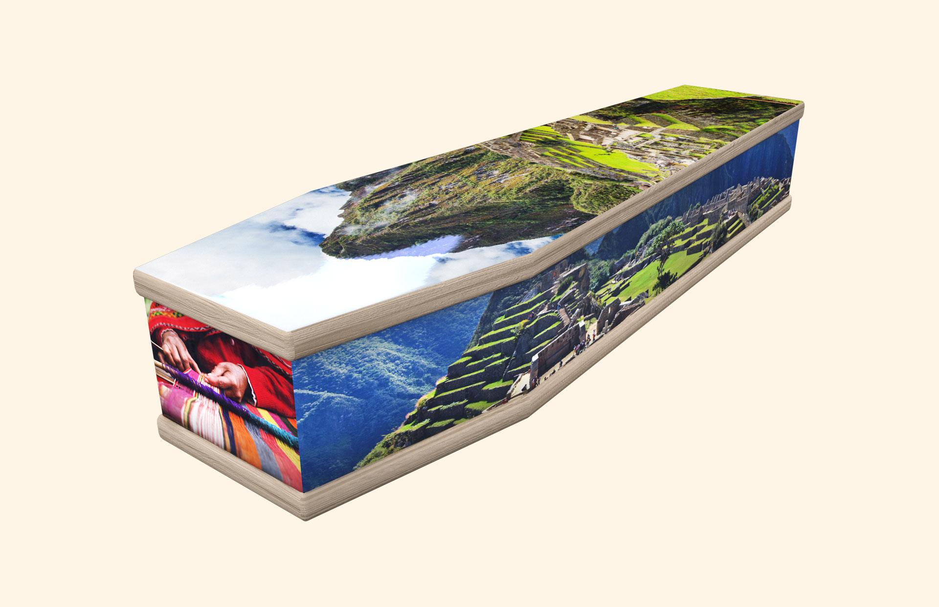Machu Picchu classic coffin