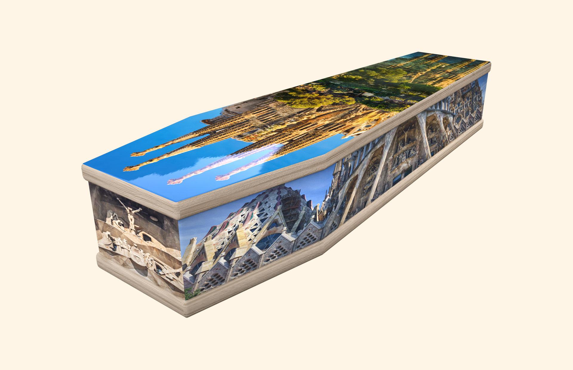 Sagrada Familia classic coffin
