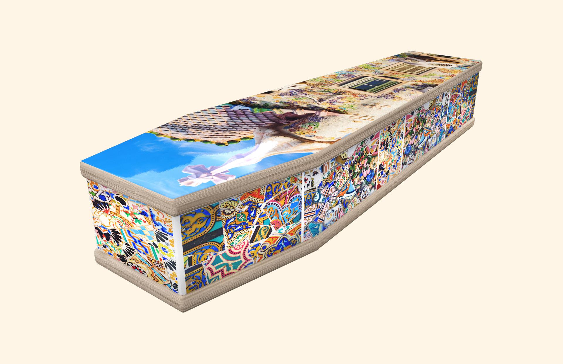 Casa Batllo classic coffin
