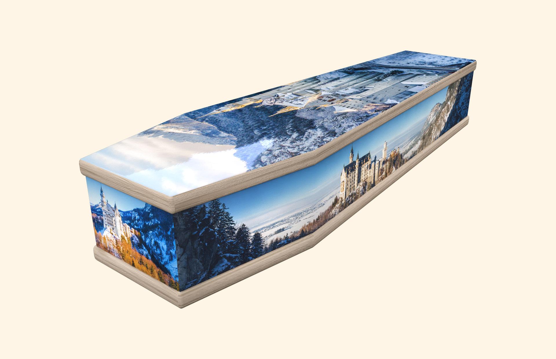 Neuschwanstein Castle classic coffin