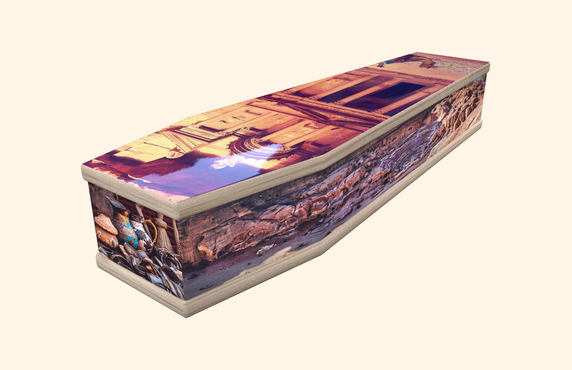 Petra the Lost City classic coffin