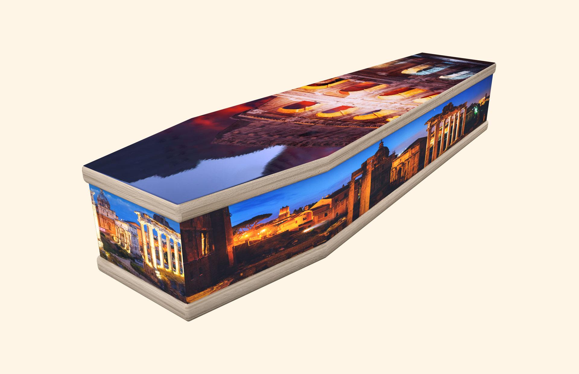Roman Forum & Colosseum classic coffin