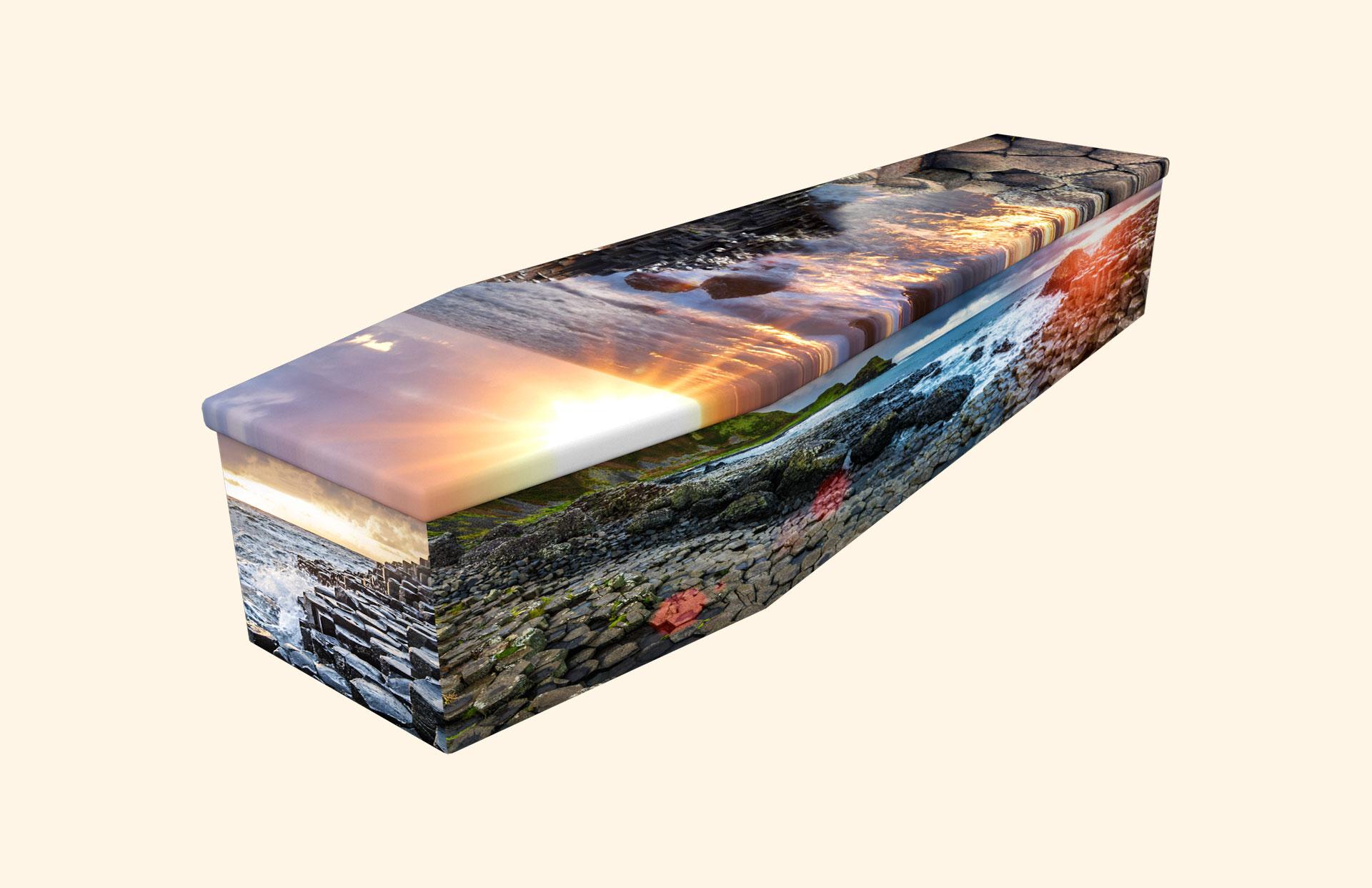 Giant's Causeway cardboard coffin