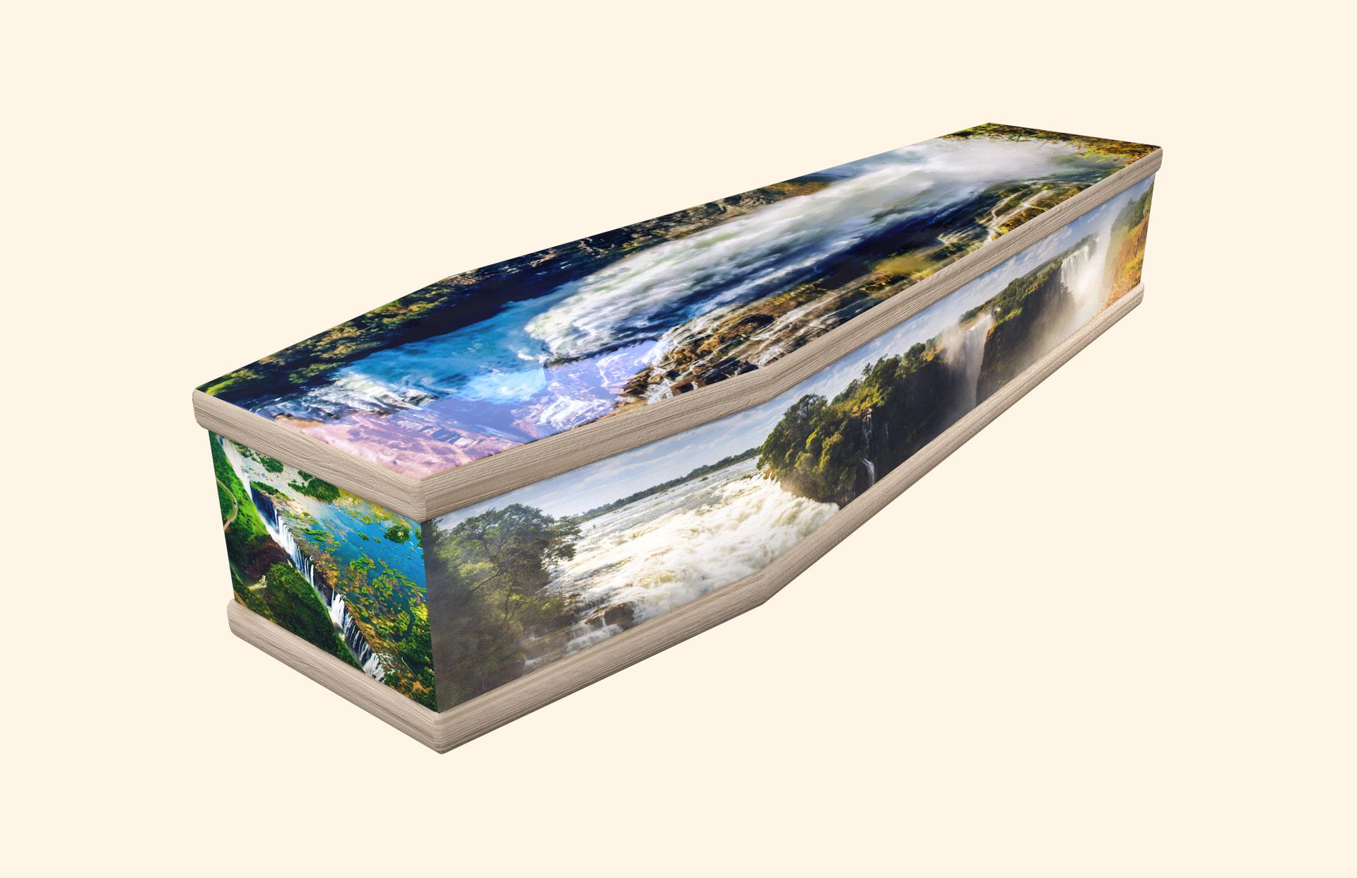 Victoria Falls classic coffin