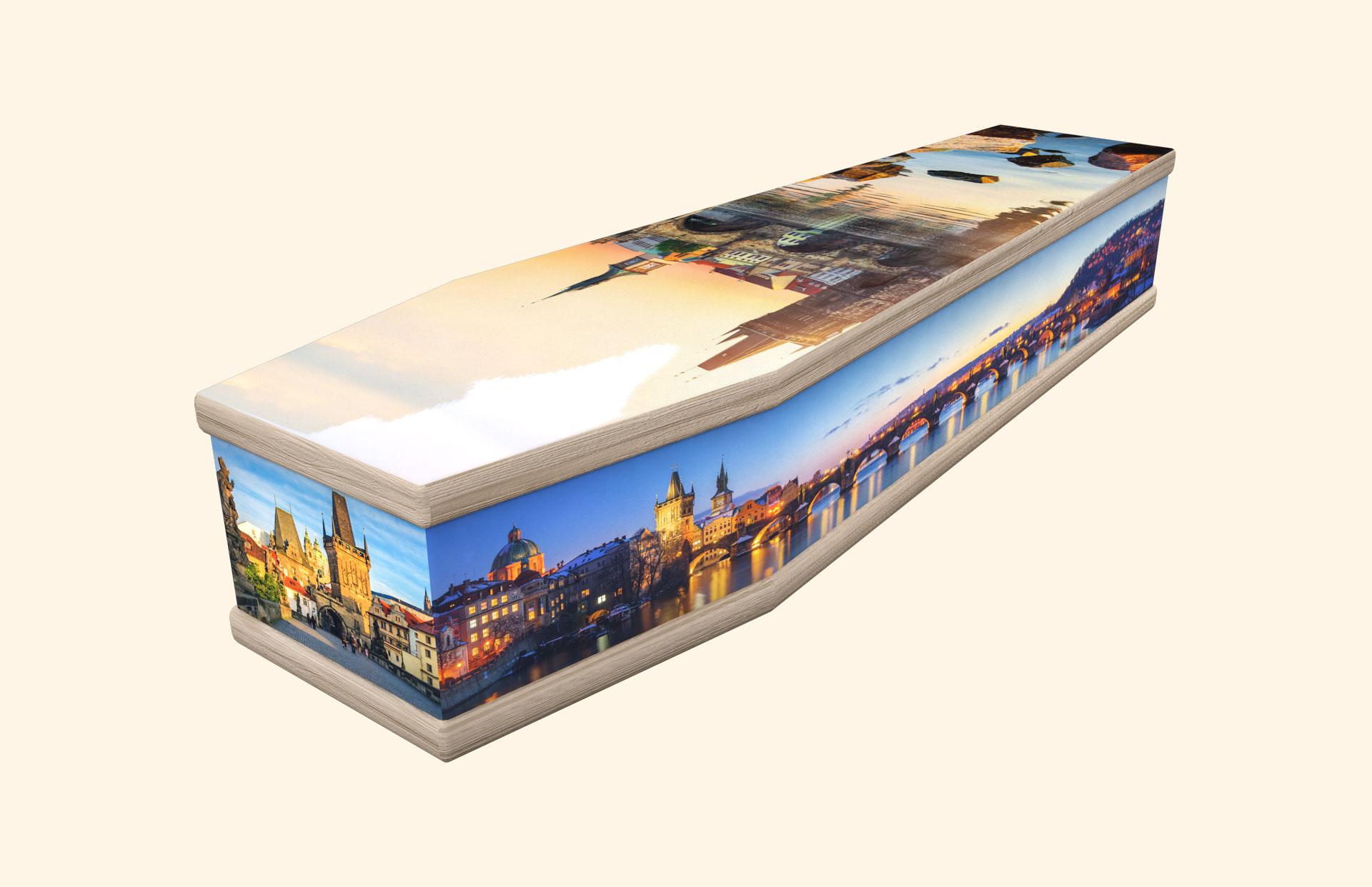 Charles Bridge classic coffin