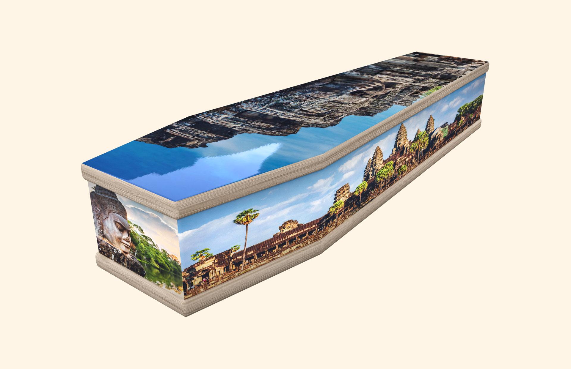 Angkor Cambodia classic coffin