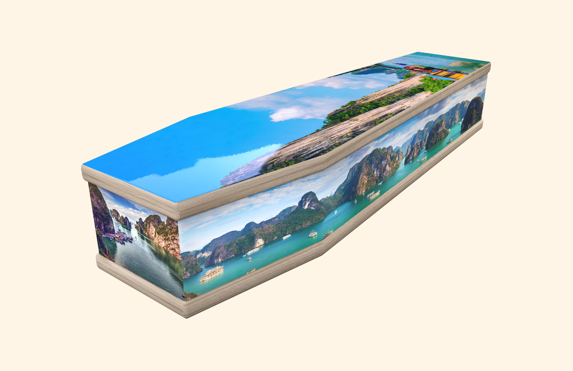 Ha Long Bay classic coffin