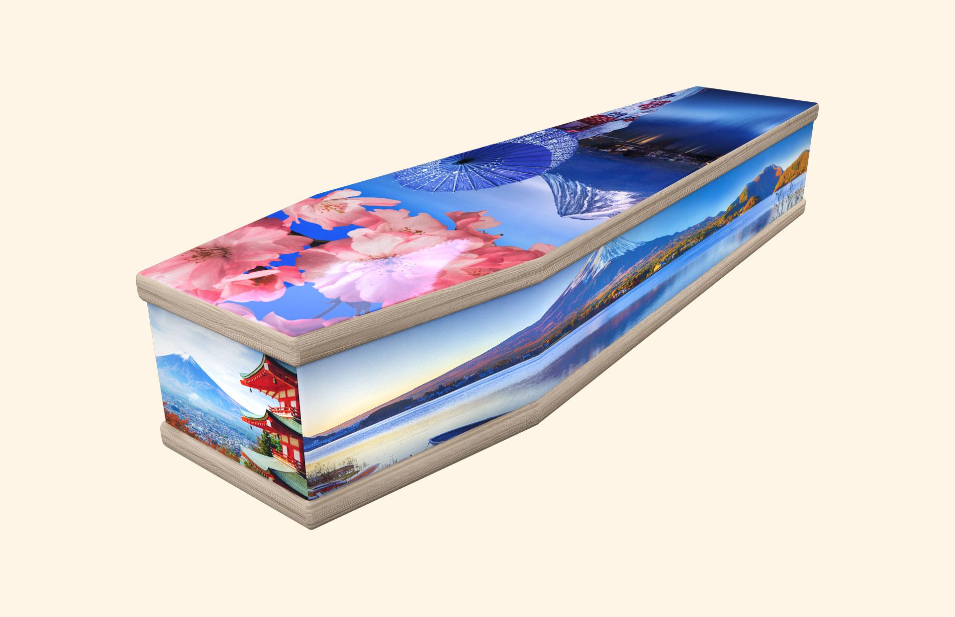 Mount Fuji classic coffin