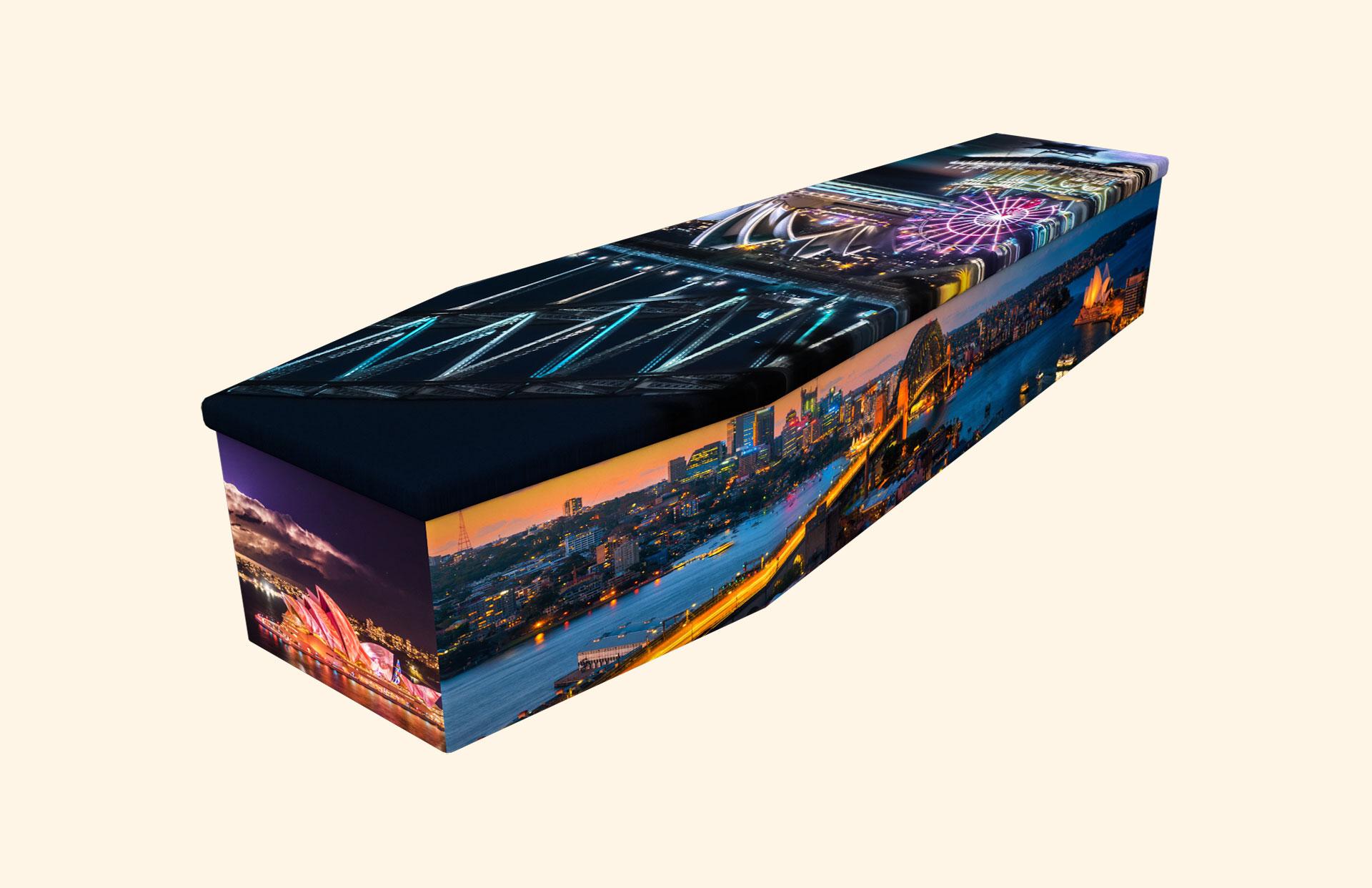Sydney cardboard coffin
