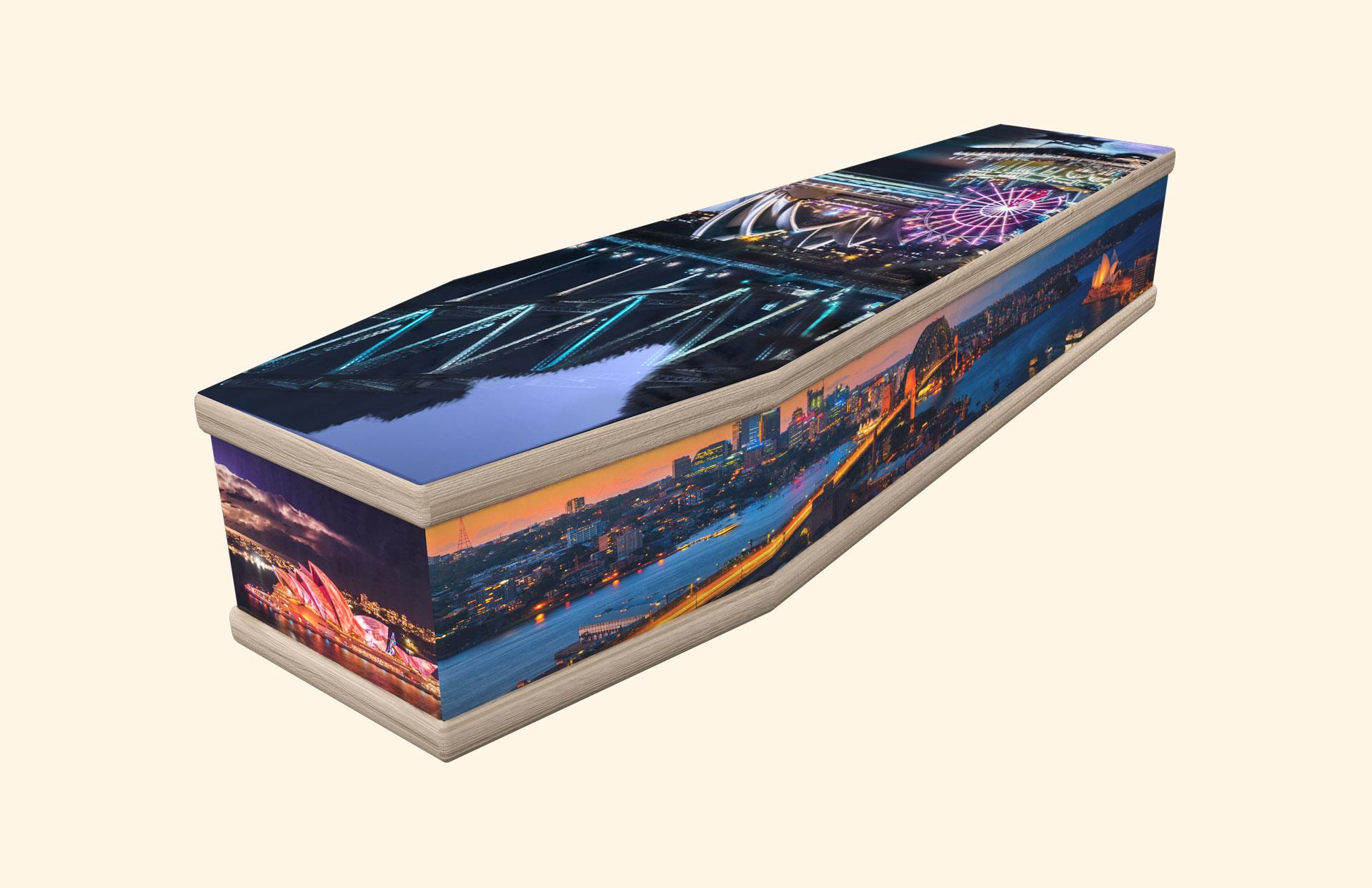 Sydney classic coffin