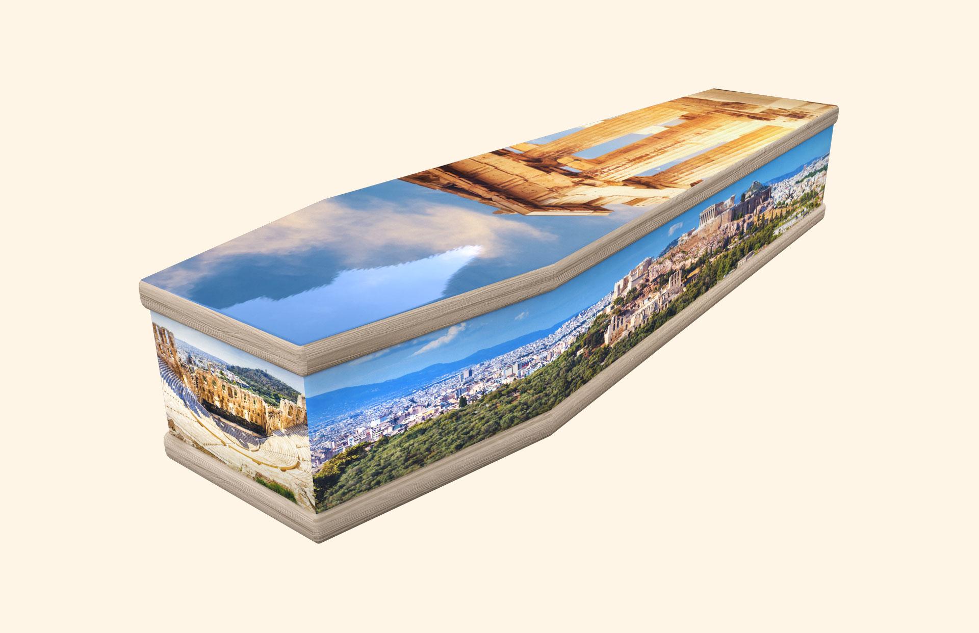 The Acropolis classic coffin