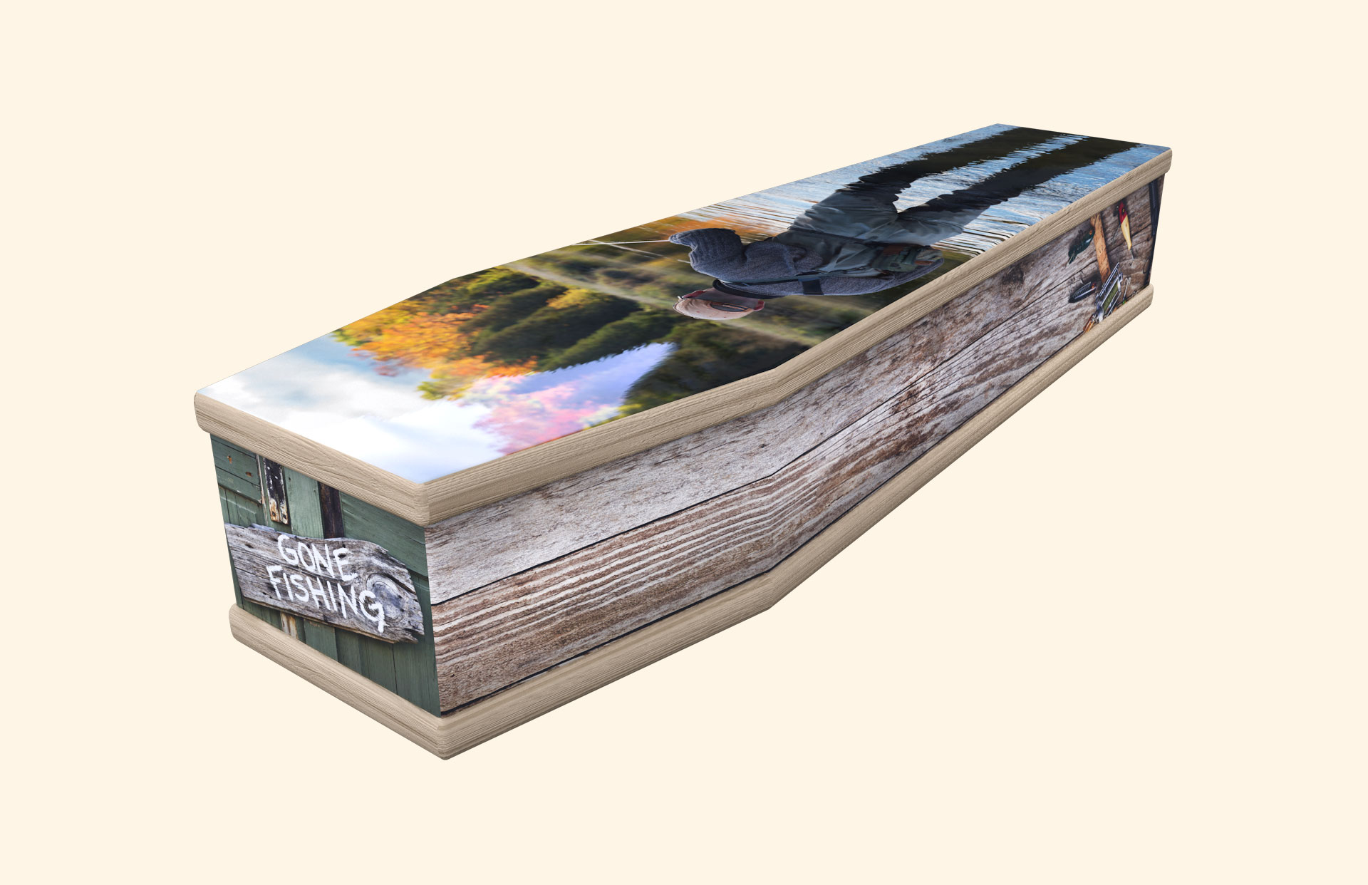 Fishing Tackle classic coffin