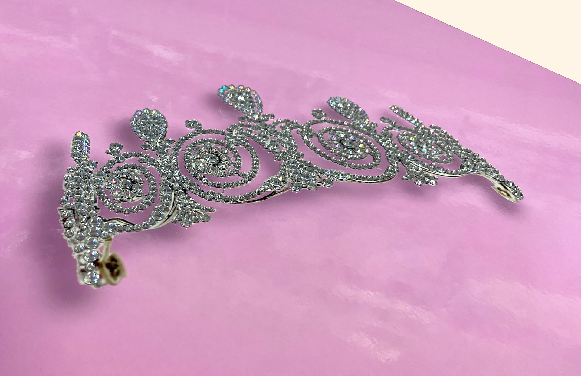 Crown highlighted with crystals