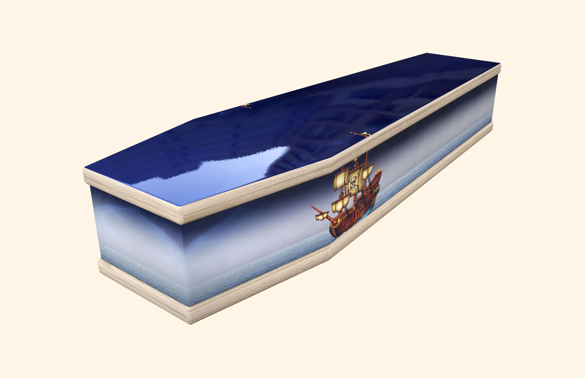 Pirate Ship Classic coffin