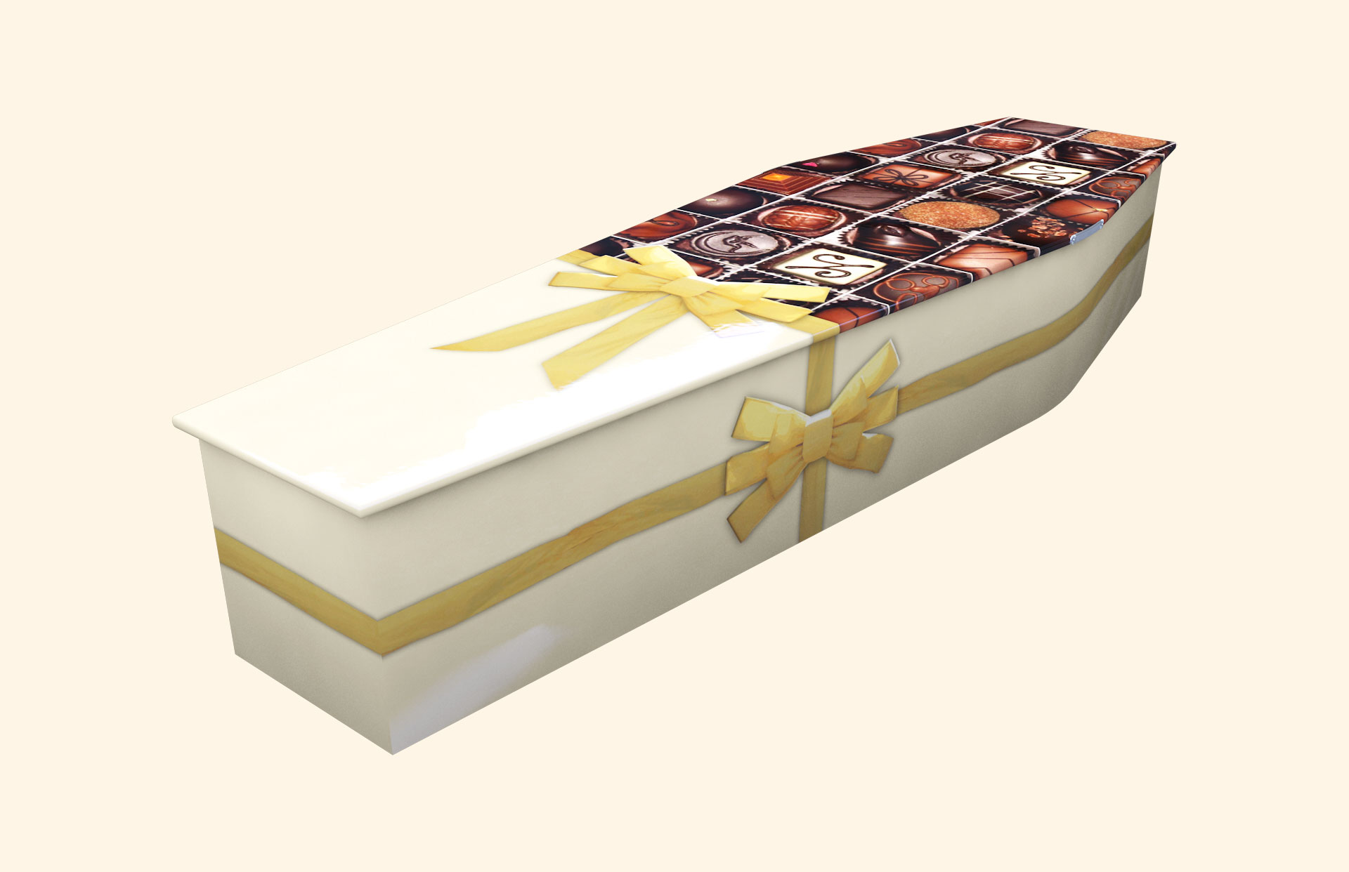 Chocoholic Alternative Traditional Coffin