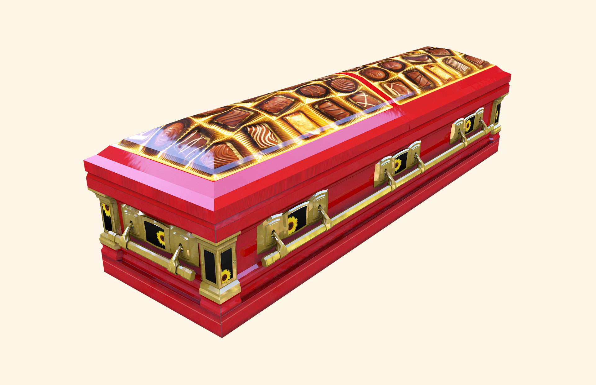 Chocoholic B Devotion American Casket