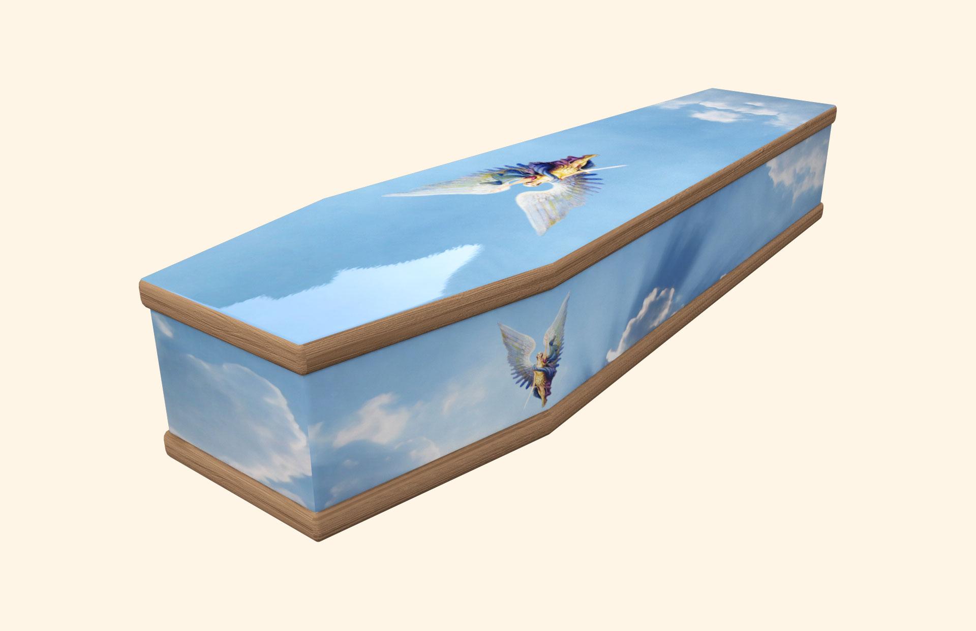 Heavenly Archangel Classic coffin