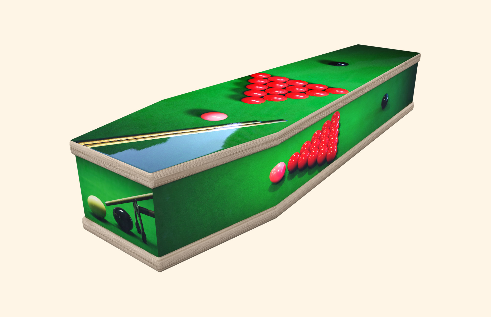 Snooker classic coffin