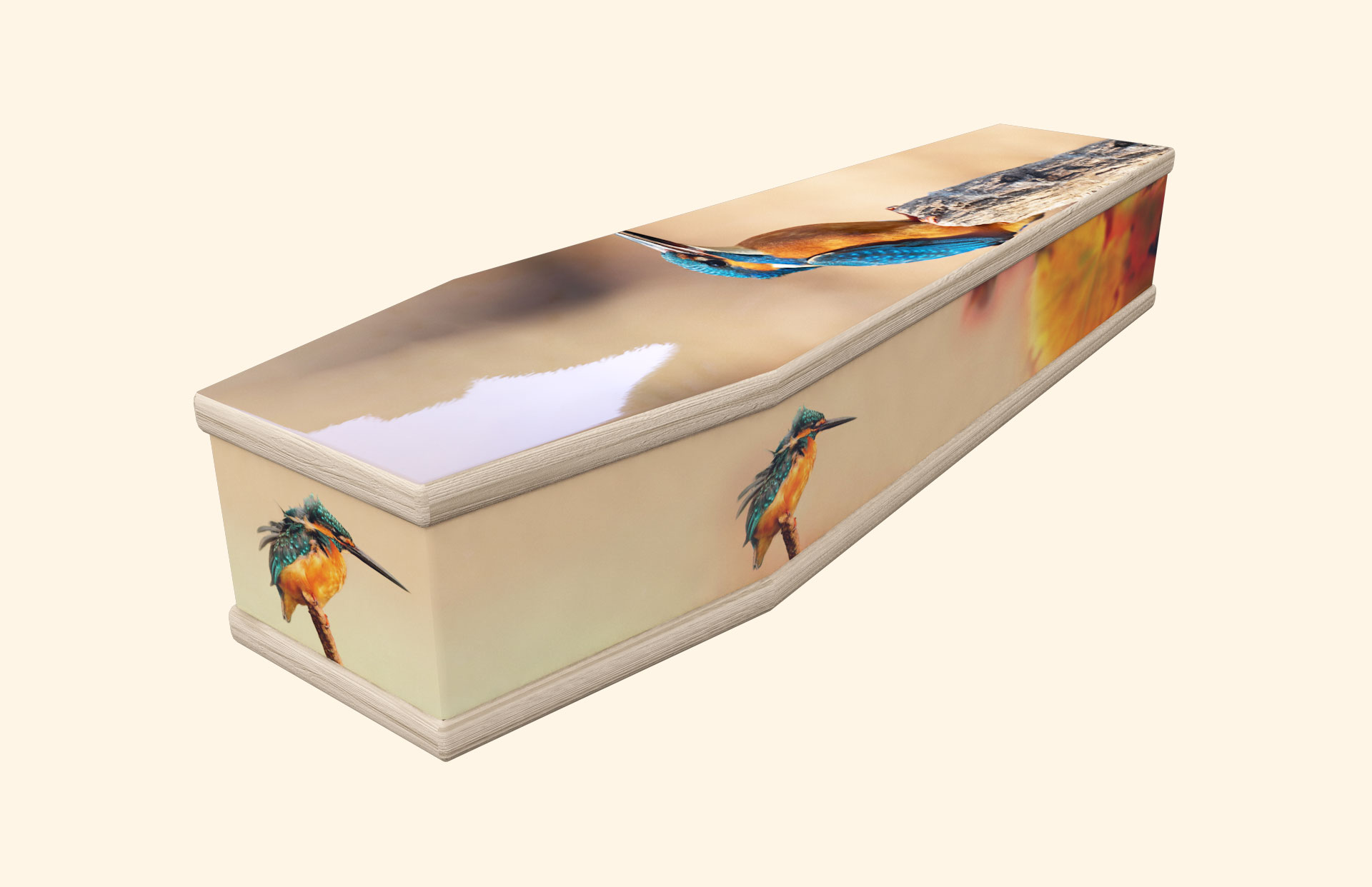 Kingfisher autumn classic coffin