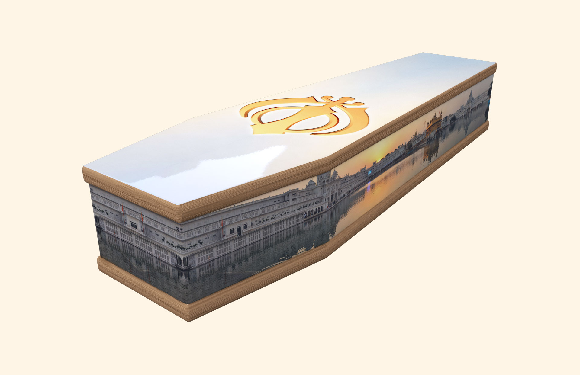 Sikh Sunrise Classic coffin