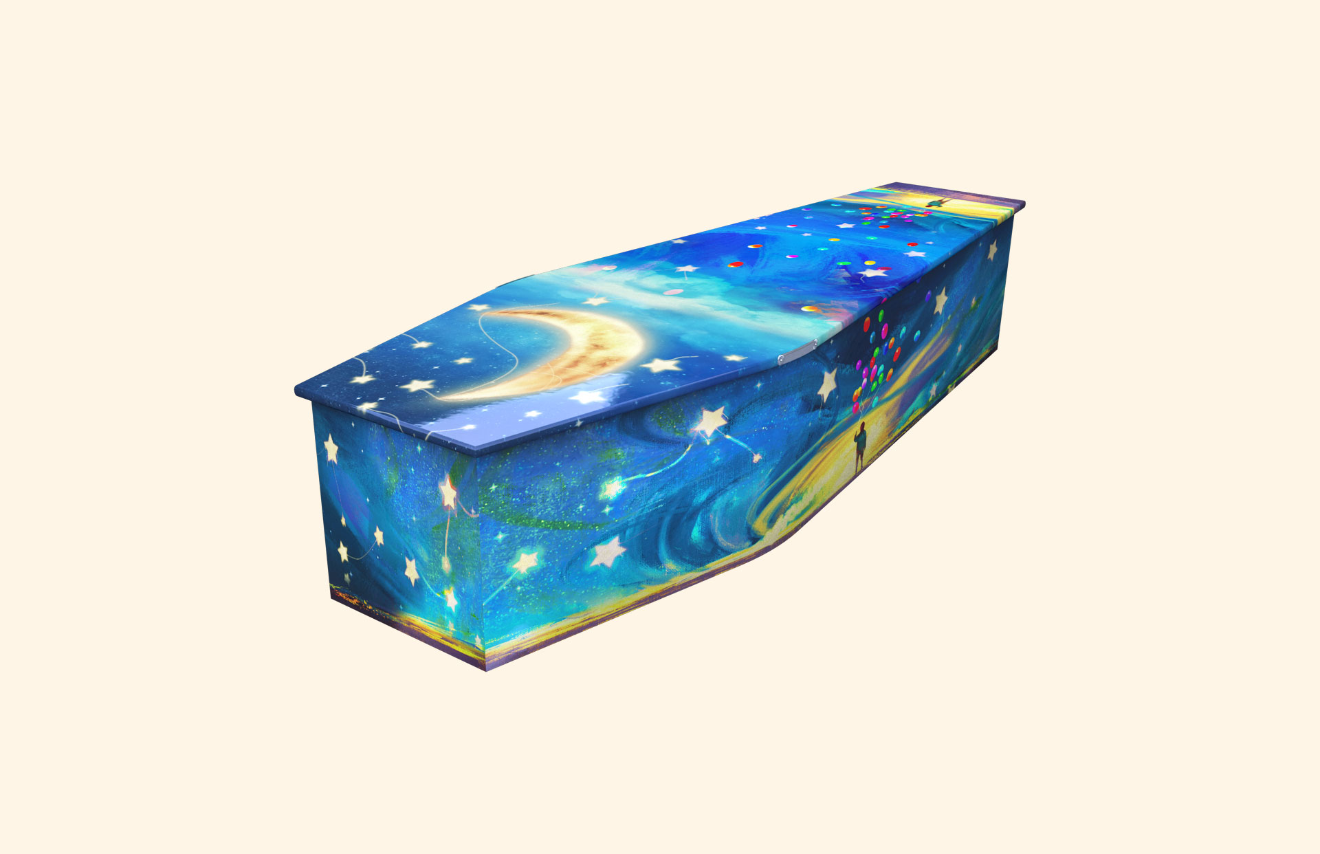 New Star in the Sky Tonight child coffin