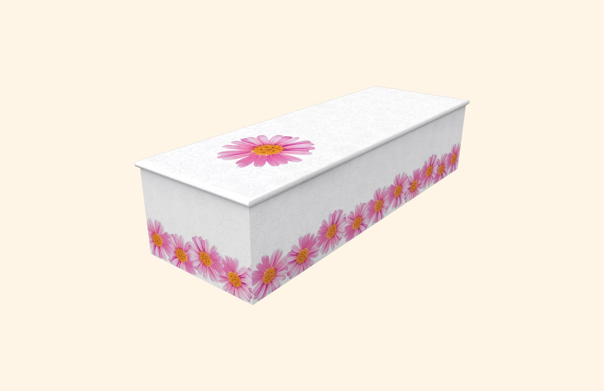 Chain of Daisies white child casket