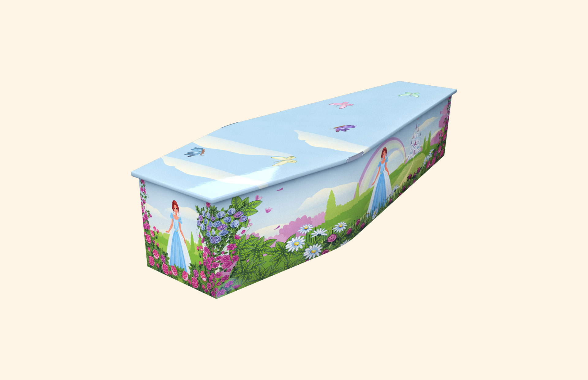 Rose Princess child coffin