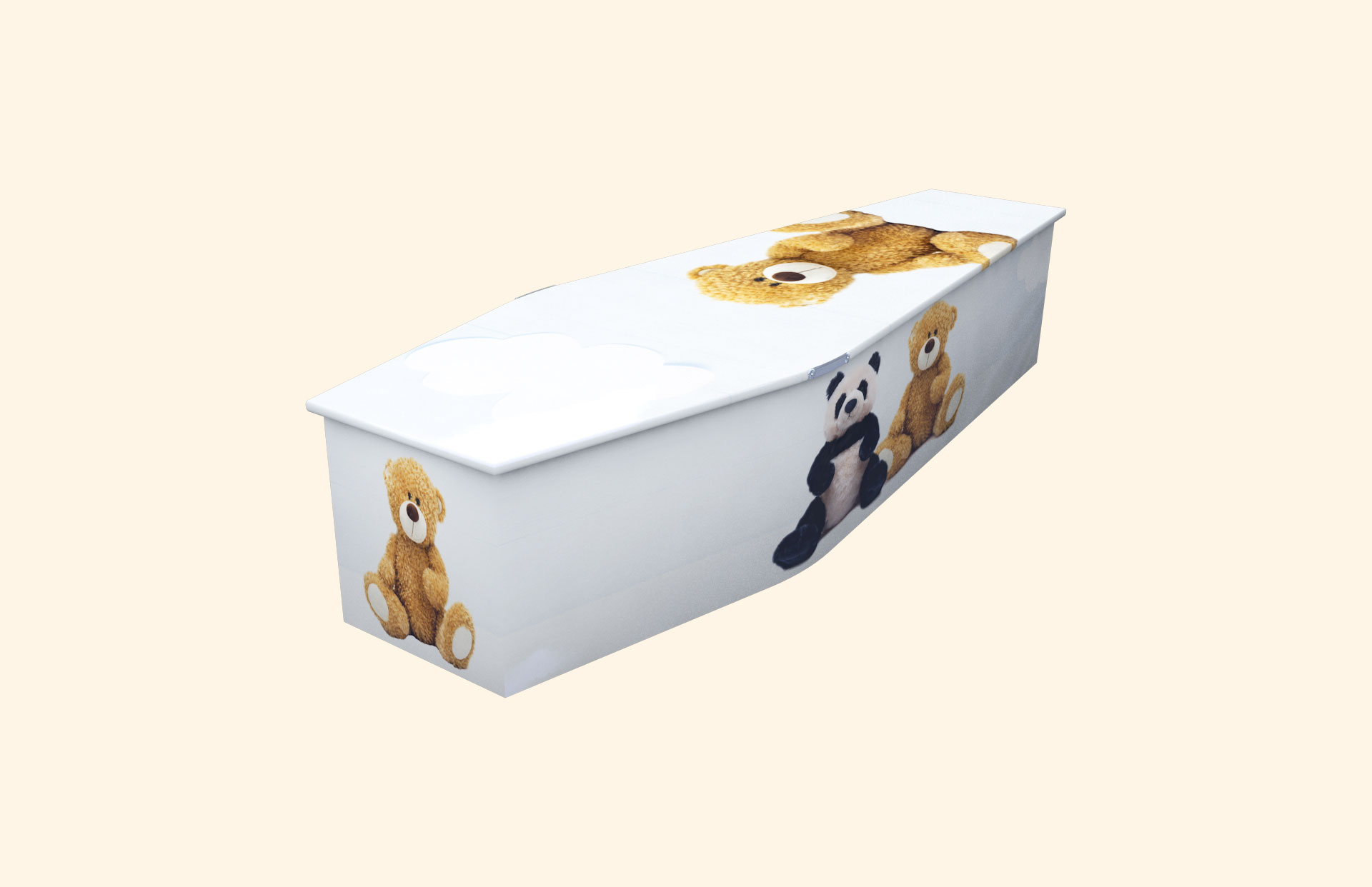 Ted-Ted blue child coffin
