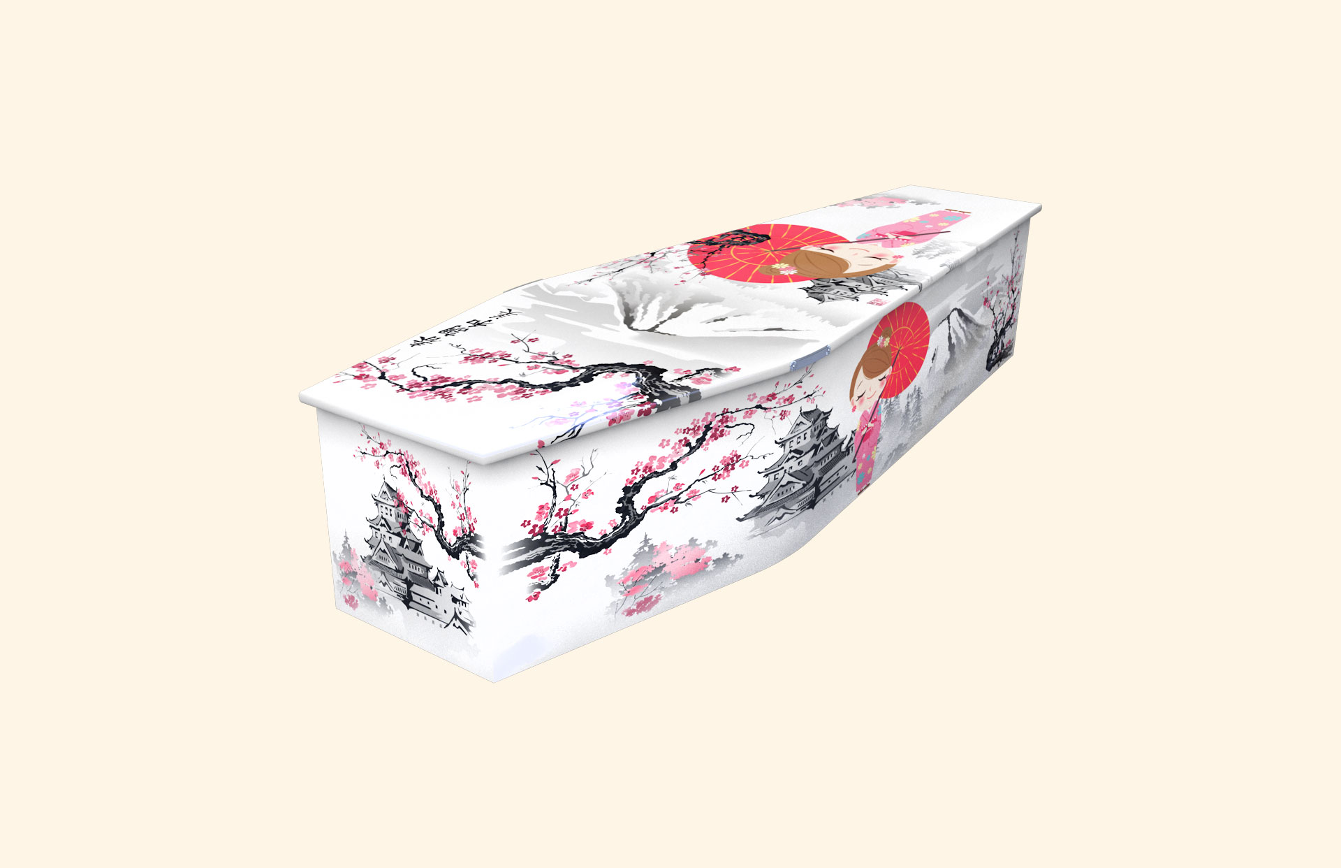 Our Little Blossom child coffin