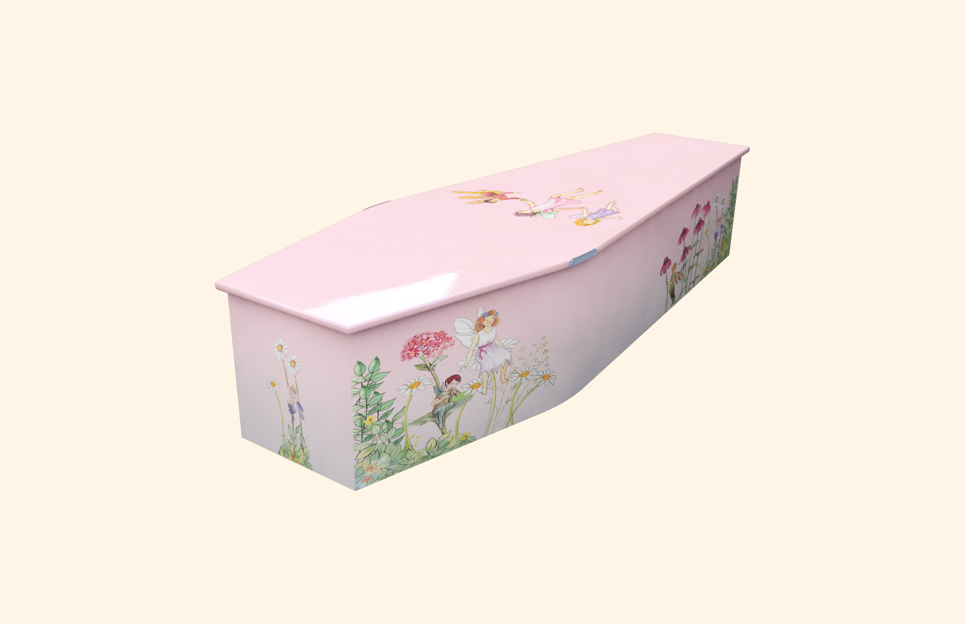 Fairyland Pink child coffin