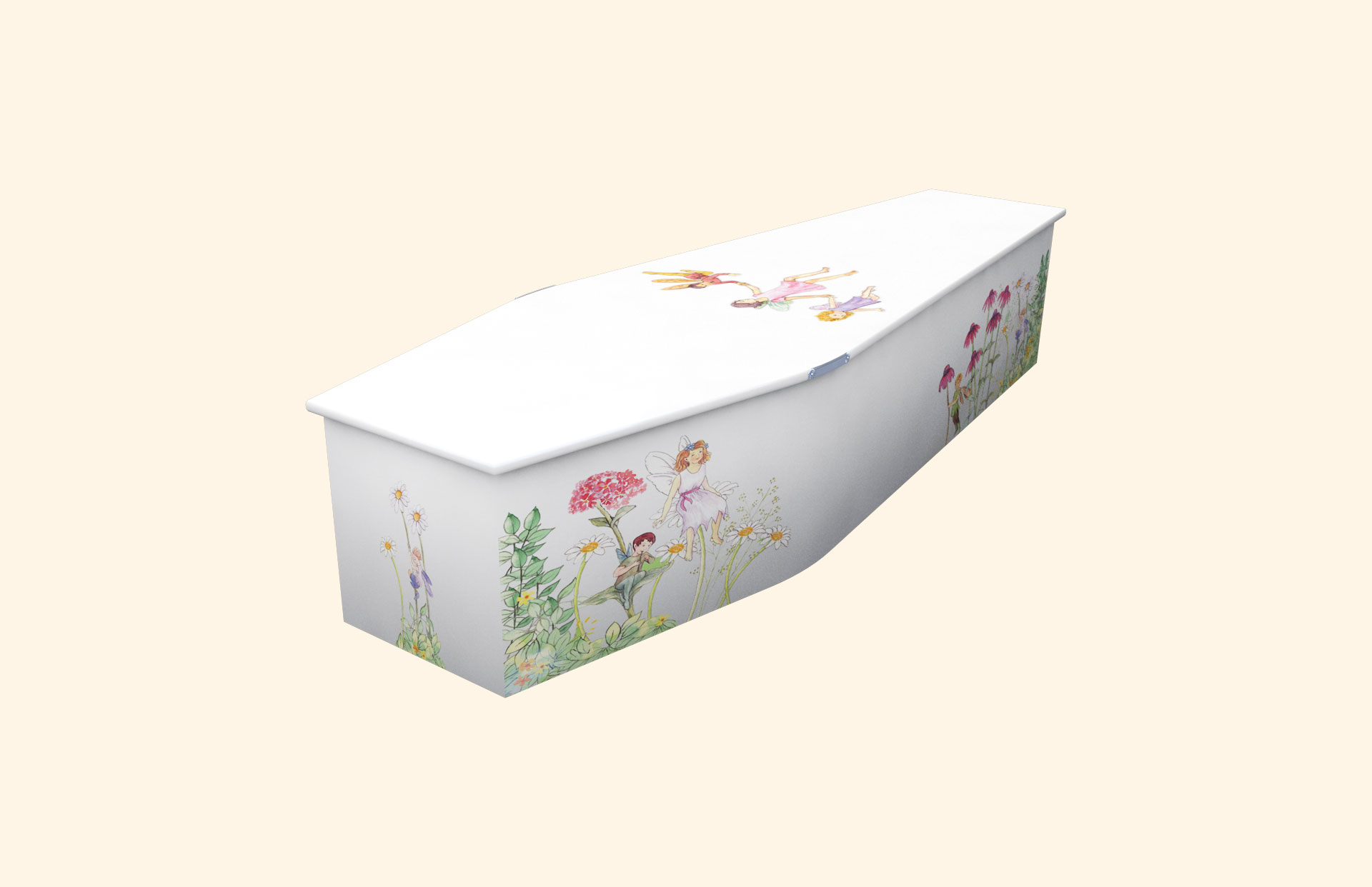 Fairyland White child coffin